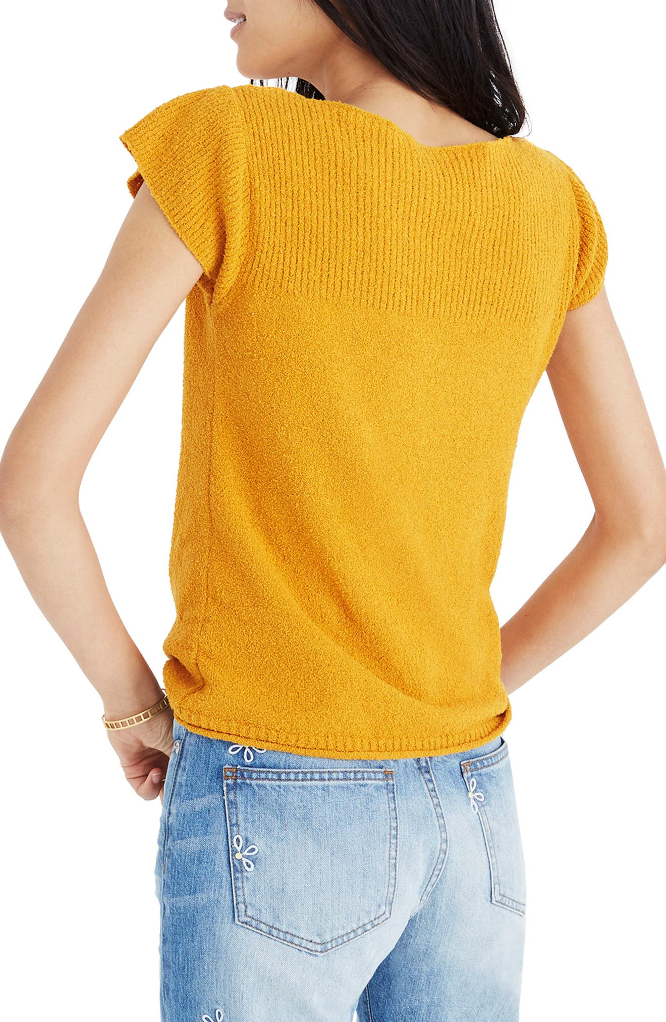 Marin Sweater Tee,                             Alternate thumbnail 2, color,                             Hayfield