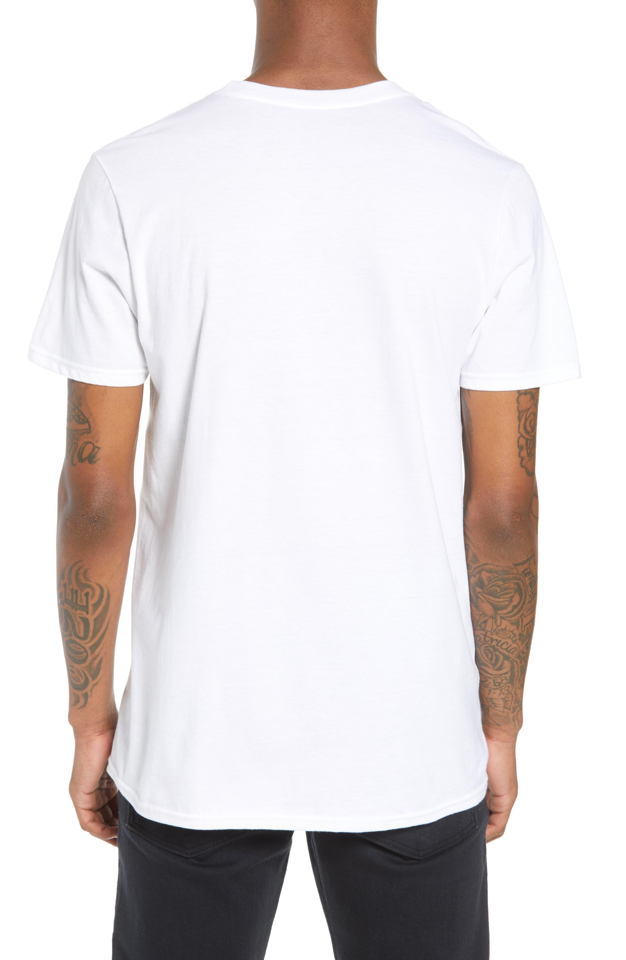 Run-DMC T-Shirt,                             Alternate thumbnail 2, color,                             White Tee Run Dmc