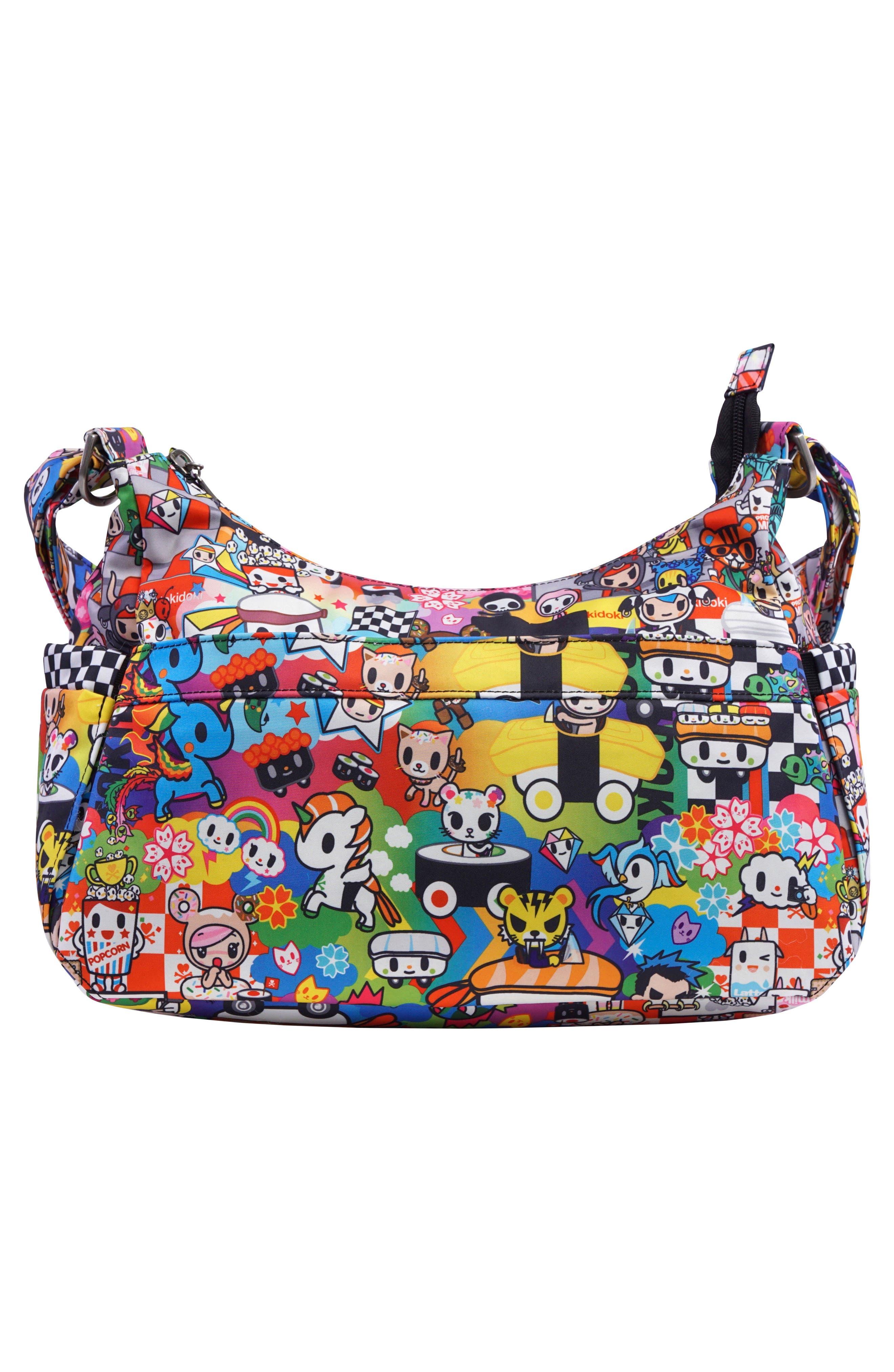 tokidoki x Ju-Ju-Be 'HoboBe' Diaper Bag,                             Alternate thumbnail 3, color,                             Sushi Cars
