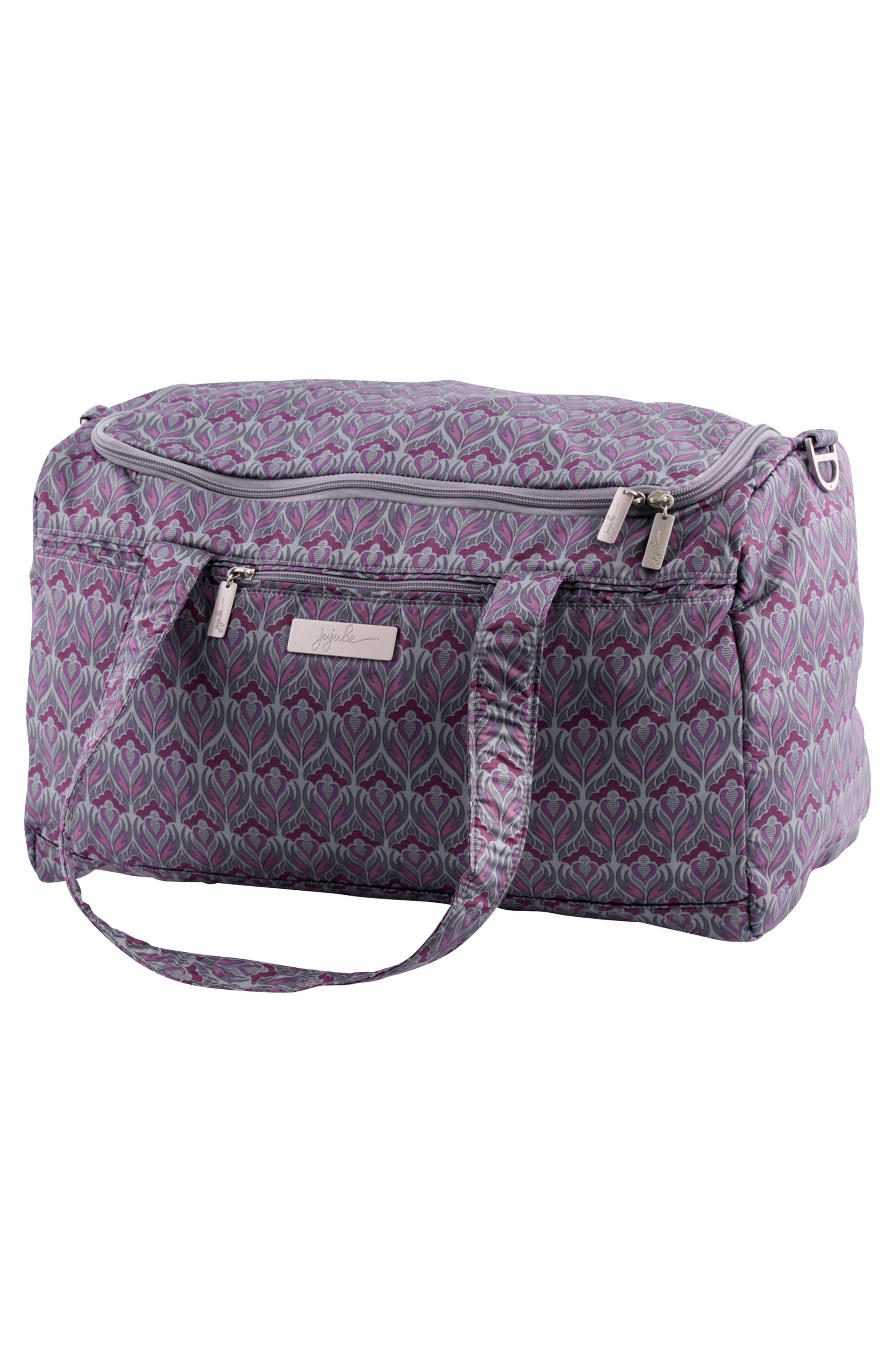 'Starlet' Travel Diaper Bag,                             Alternate thumbnail 4, color,                             Amethyst Ice