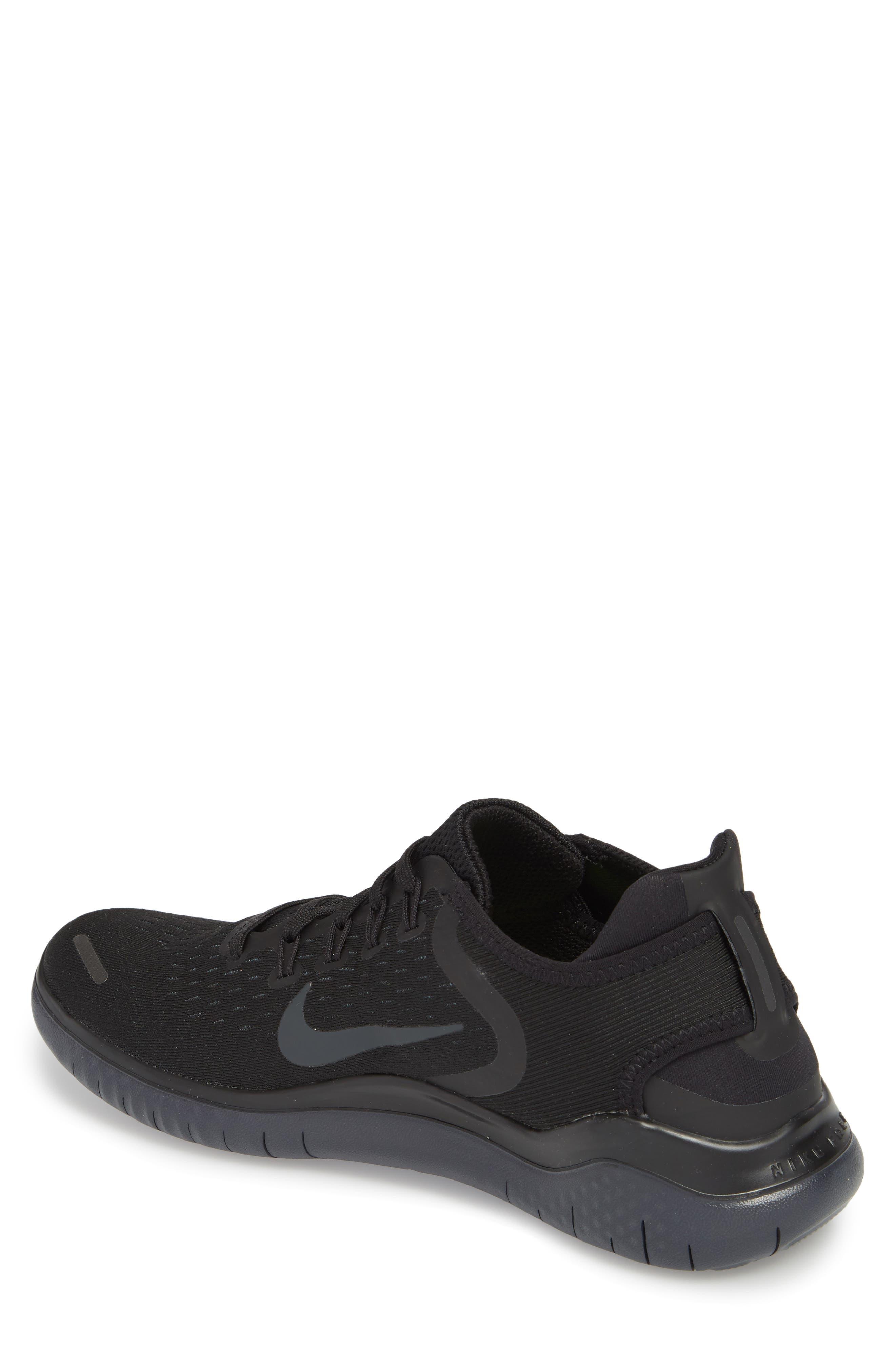 Free RN 2018 Running Shoe,                             Alternate thumbnail 2, color,                             Black/ Anthracite