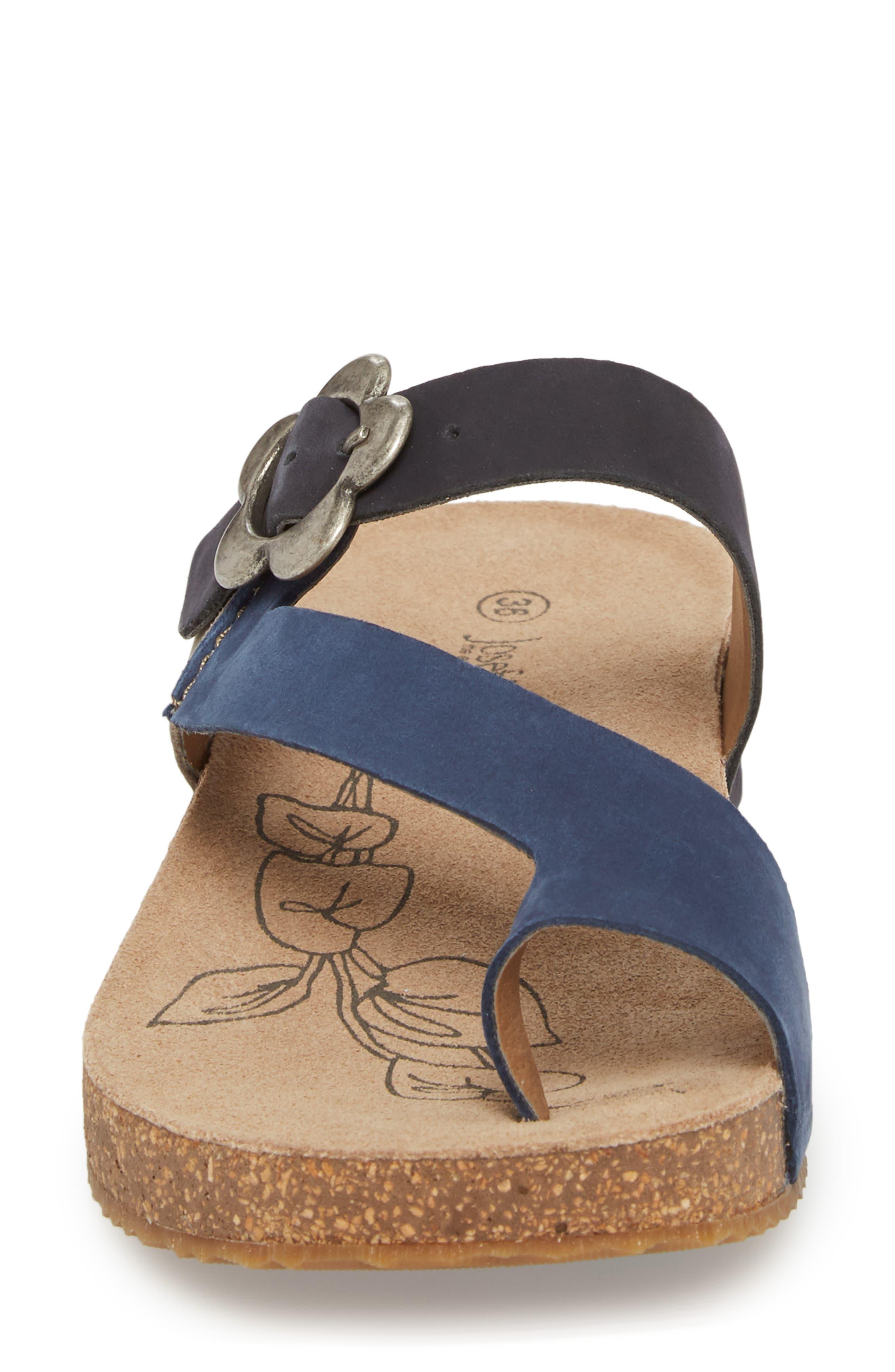 Tonga 23 Sandal,                             Alternate thumbnail 4, color,                             Blue Multi Leather