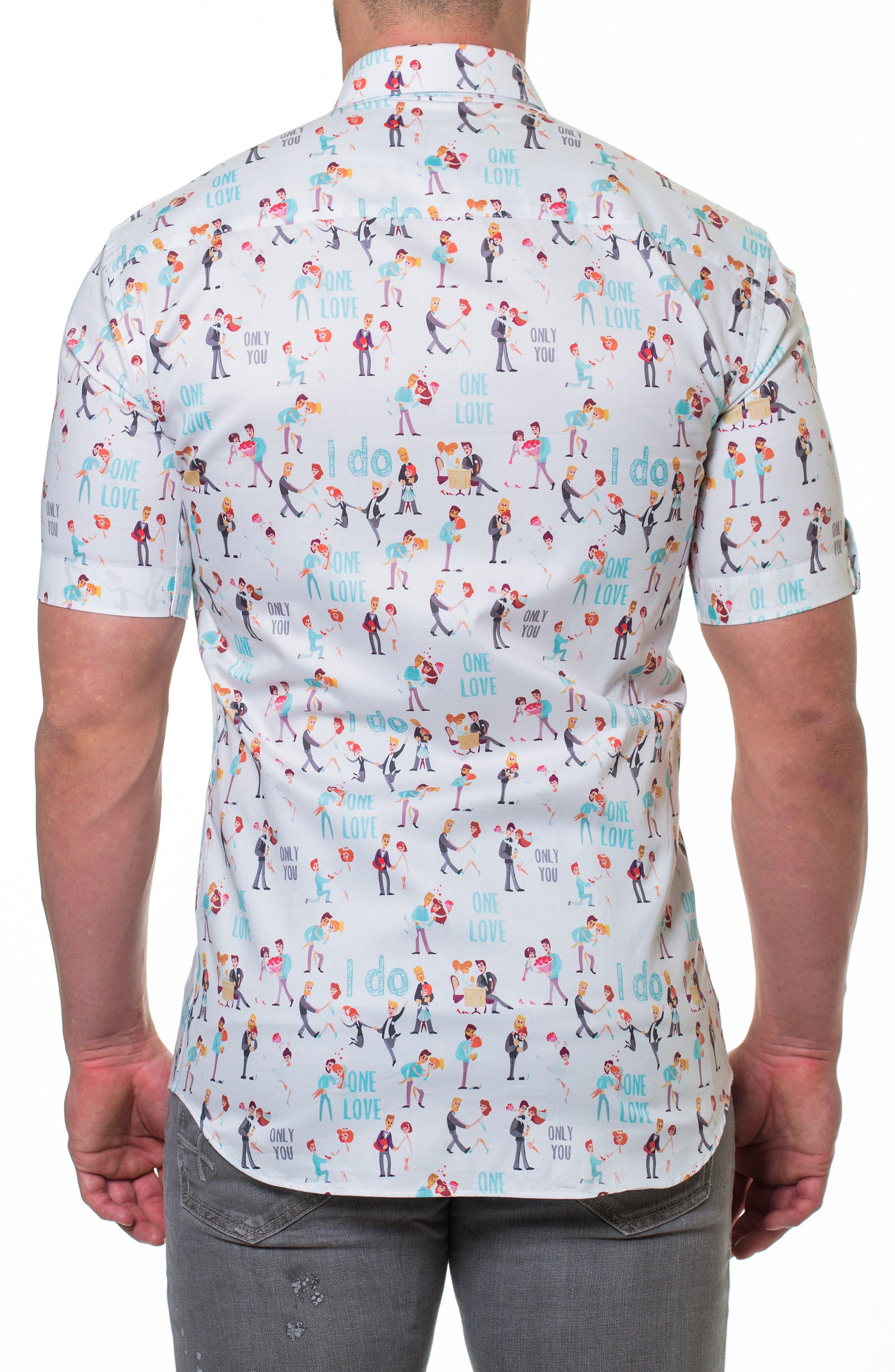 Fresh Proposal Slim Fit Sport Shirt,                             Alternate thumbnail 2, color,                             White