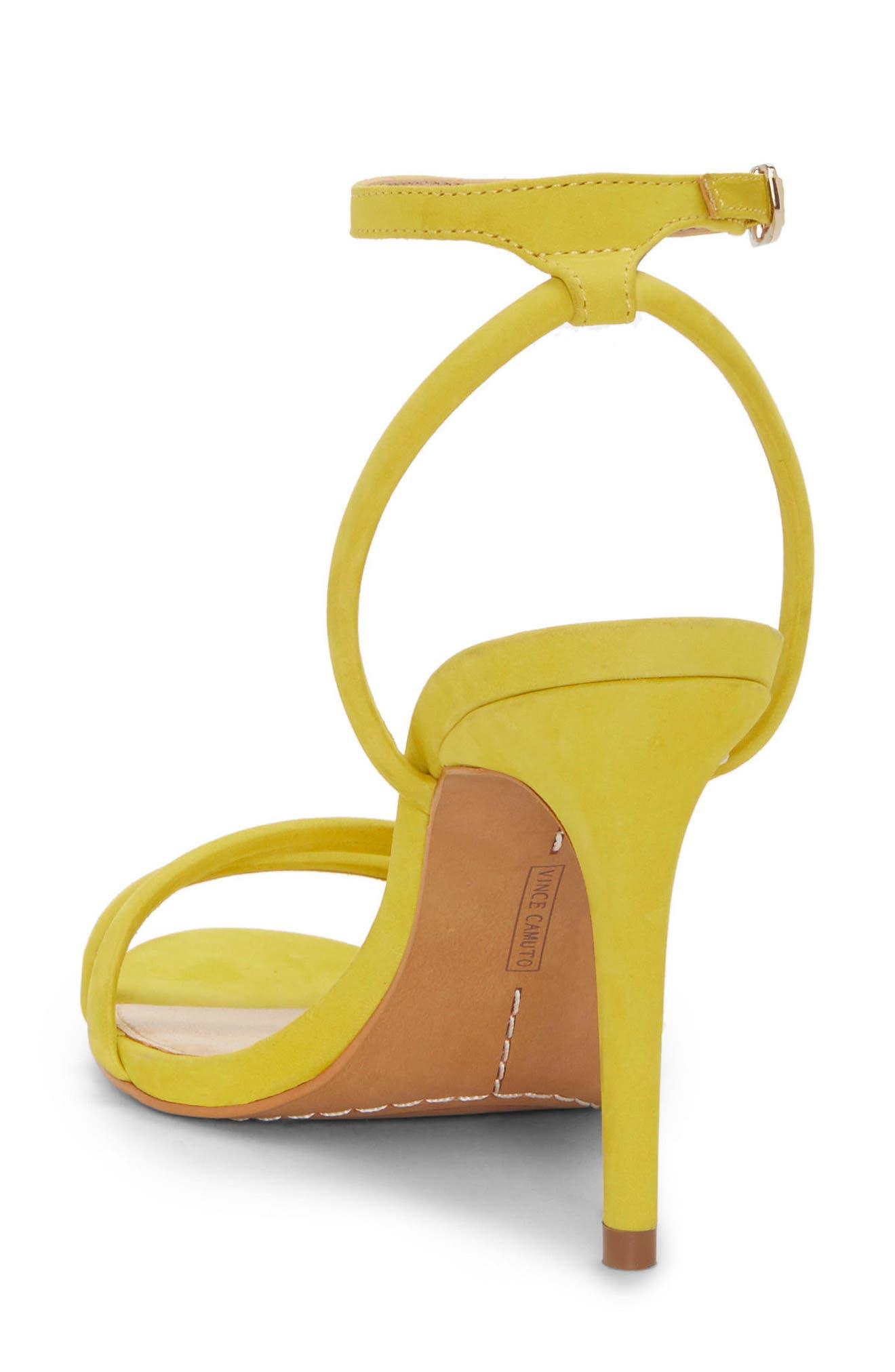 Kareenat Sandal,                             Alternate thumbnail 2, color,                             Yellow Nubuck Leather