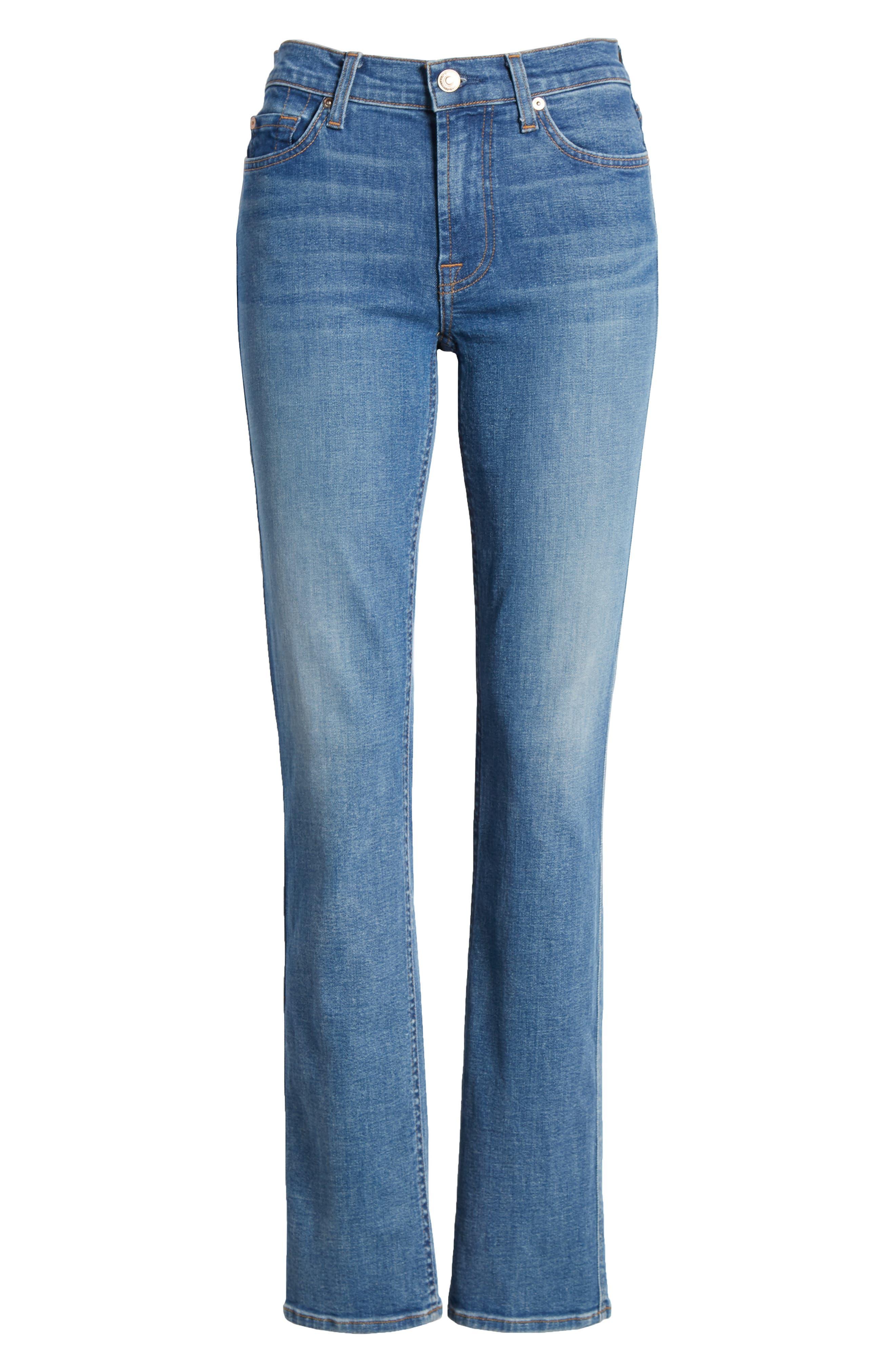 Dylan Straight Leg Jeans,                             Alternate thumbnail 7, color,                             Heritage Art Walk