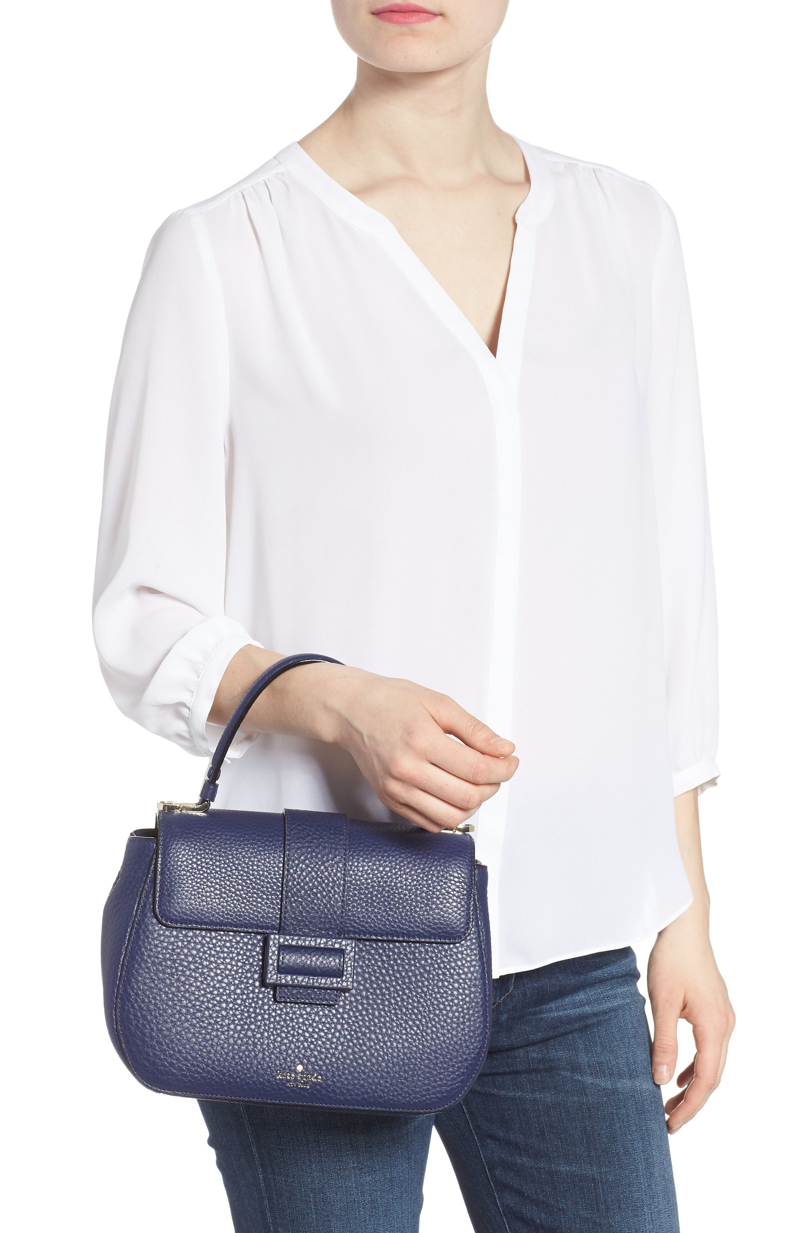 Alternate Image 2  - kate spade new york carlyle street - justina leather satchel