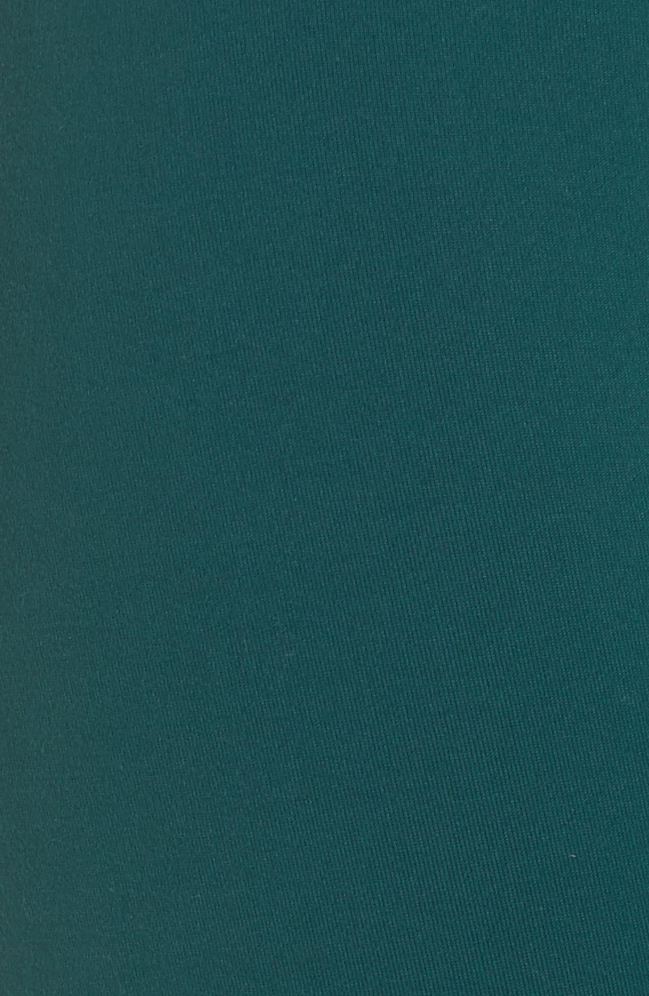 Neo Banded Crop Leggings,                             Alternate thumbnail 6, color,                             Green Bug