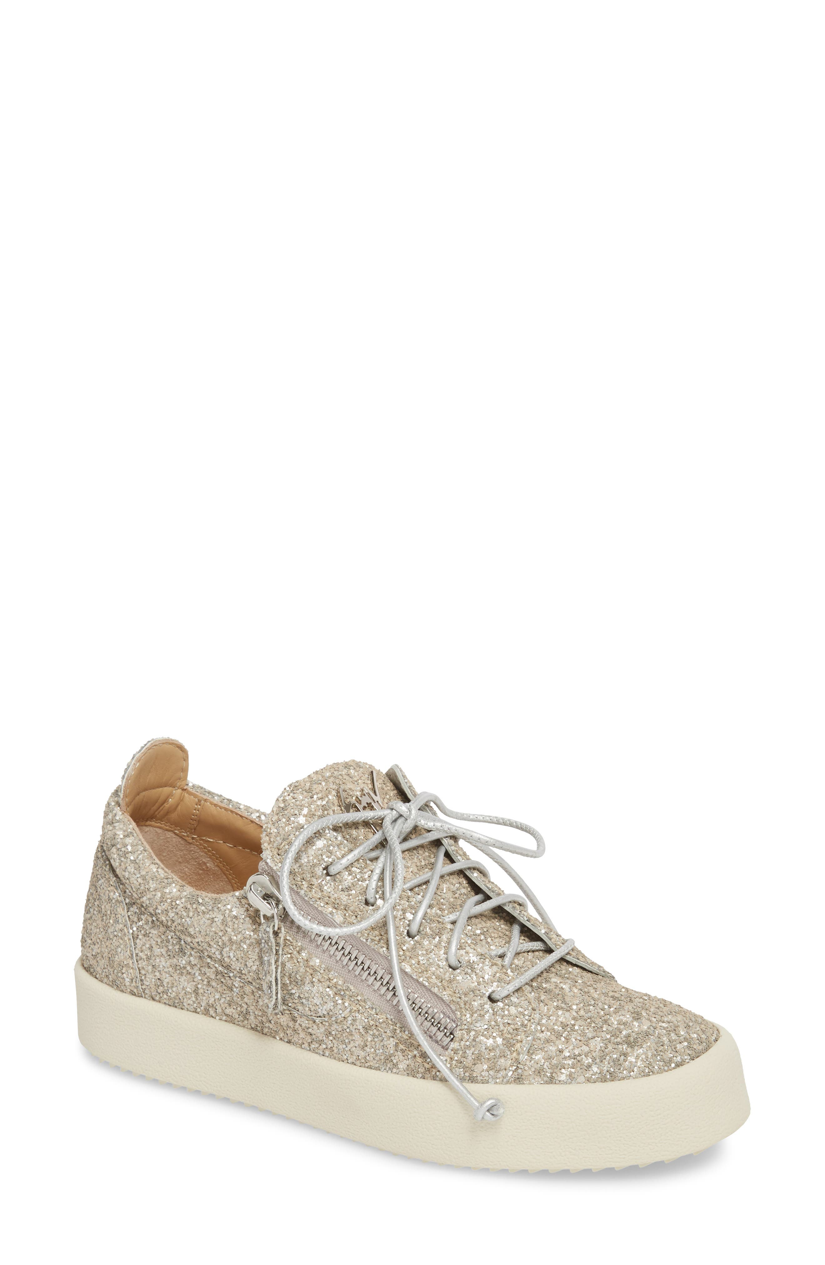 May London Low Top Sneaker,                         Main,                         color, Champagne