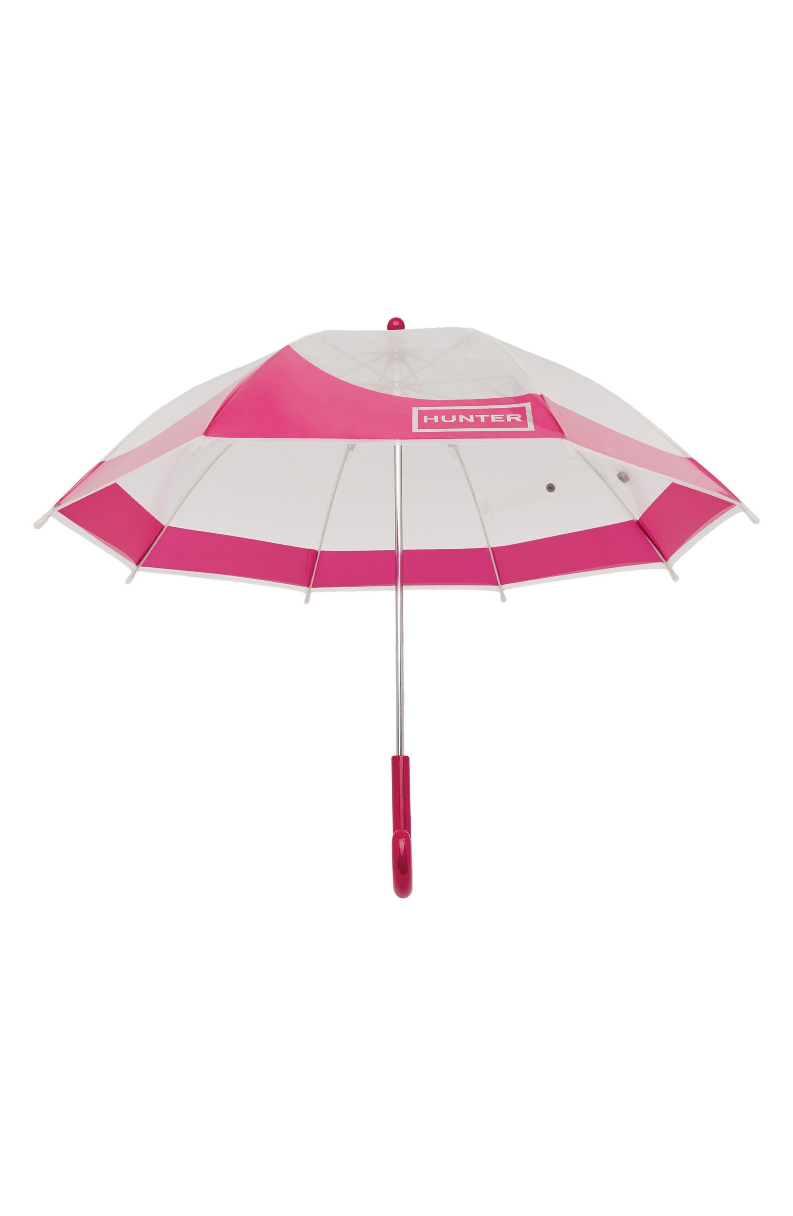 Moustache Bubble Umbrella,                             Alternate thumbnail 2, color,                             Bright Pink