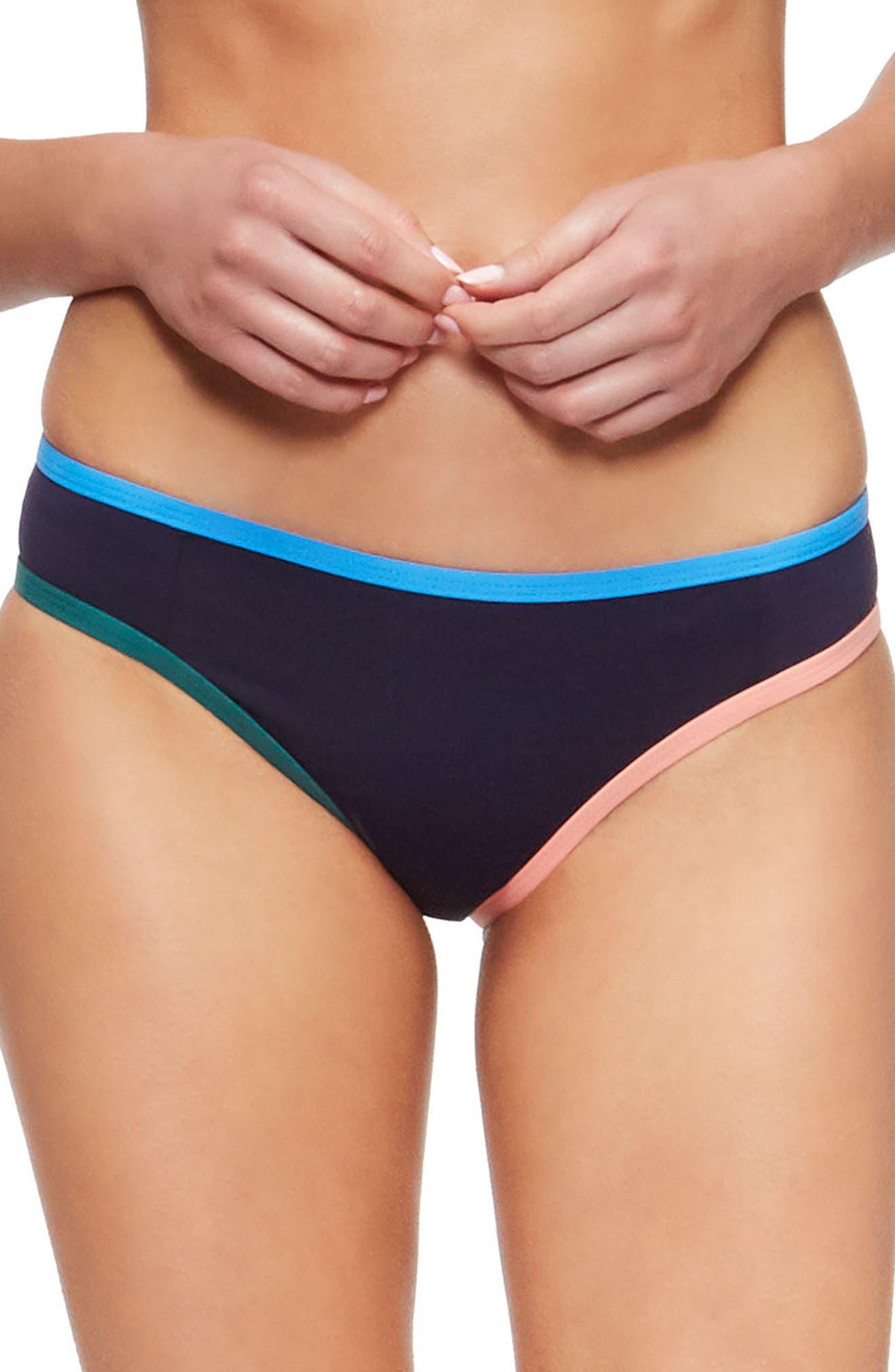 Jayden Bikini Bottoms,                             Main thumbnail 1, color,                             Evening Blue/ French Blue