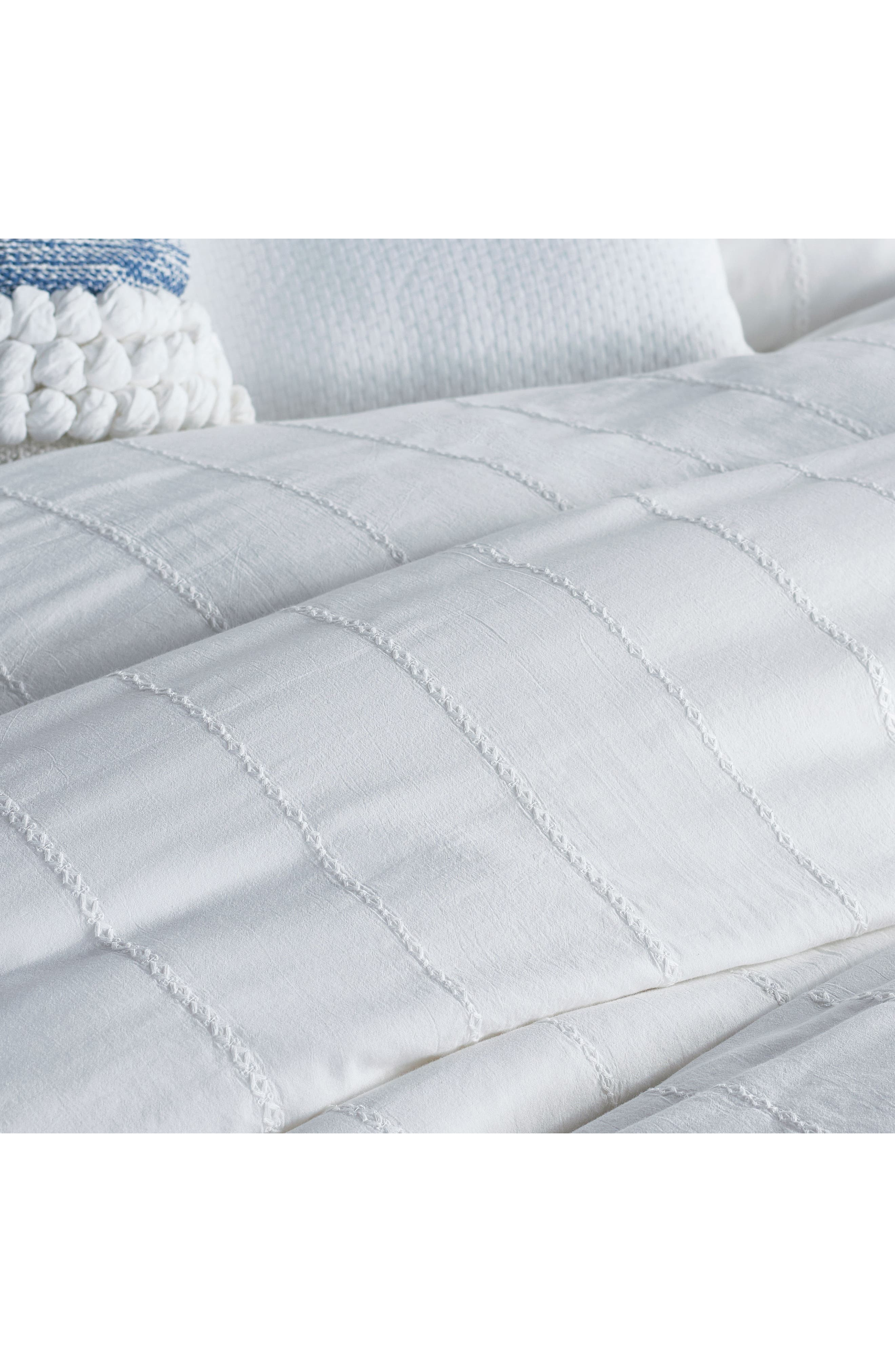 Alternate Image 2  - DKNY Pure Eyelet Voile Duvet Cover