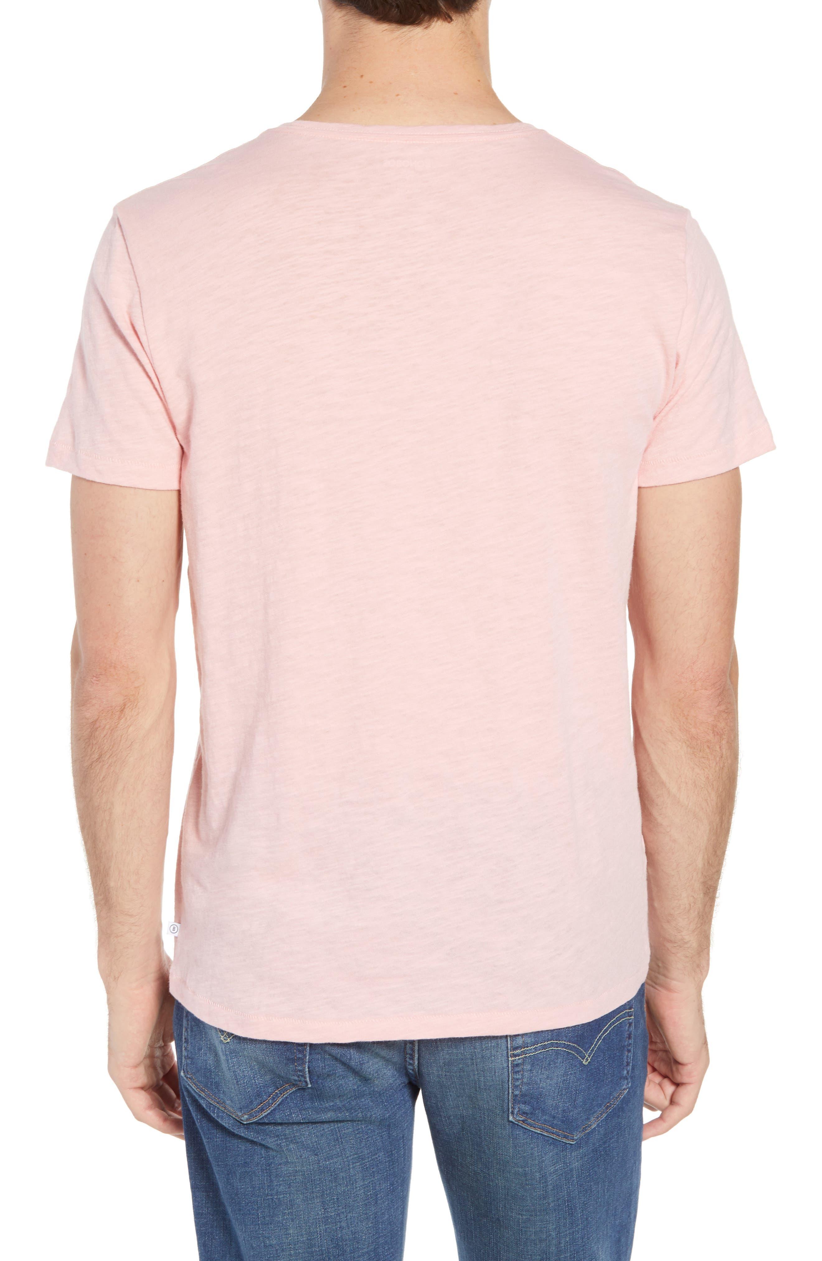 Stoked Slub T-Shirt,                             Alternate thumbnail 2, color,                             Pink Stoked