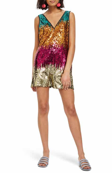 Women S Metallic Dresses Nordstrom