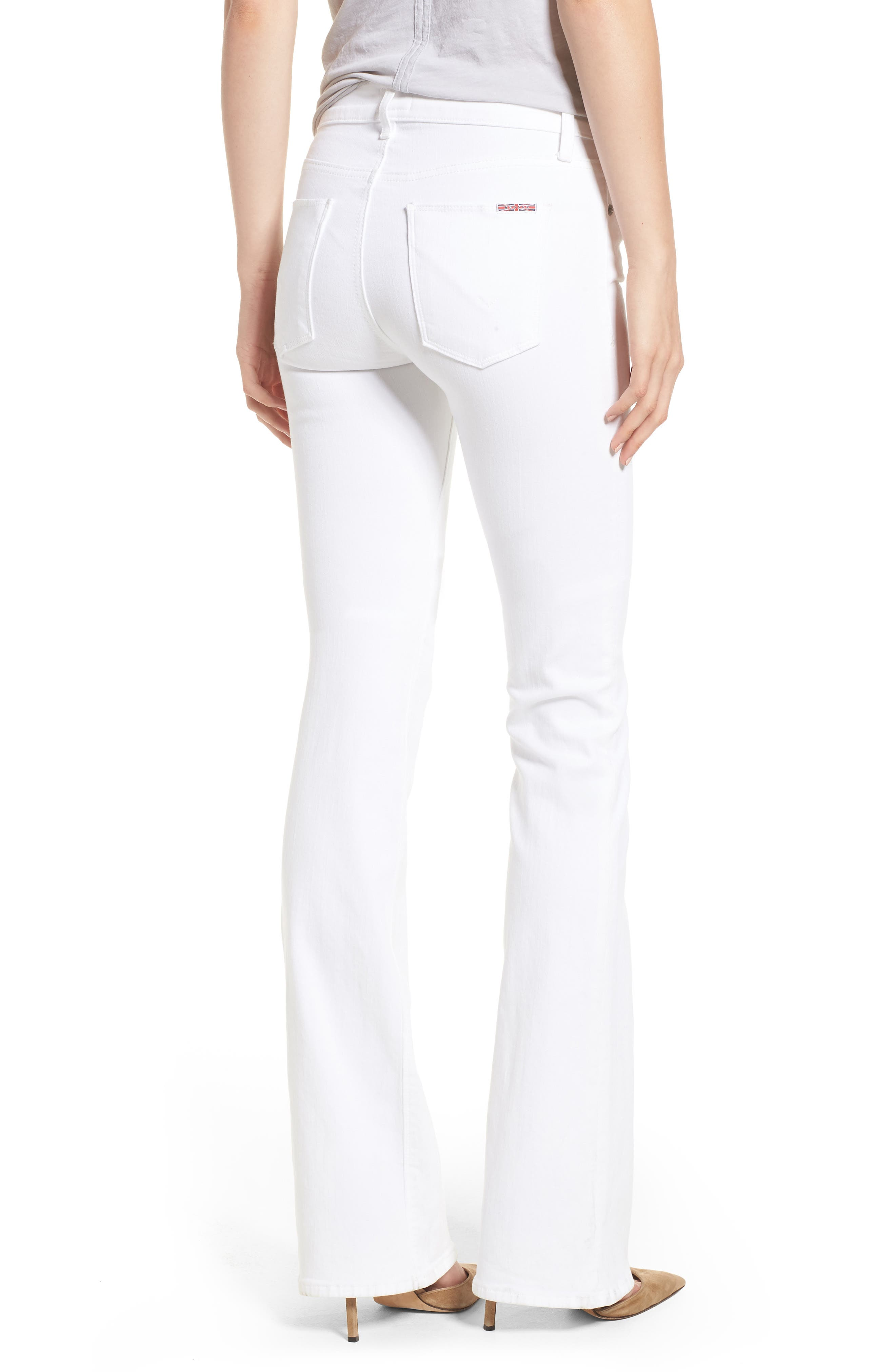 Drew Bootcut Jeans,                             Alternate thumbnail 2, color,                             Optical White