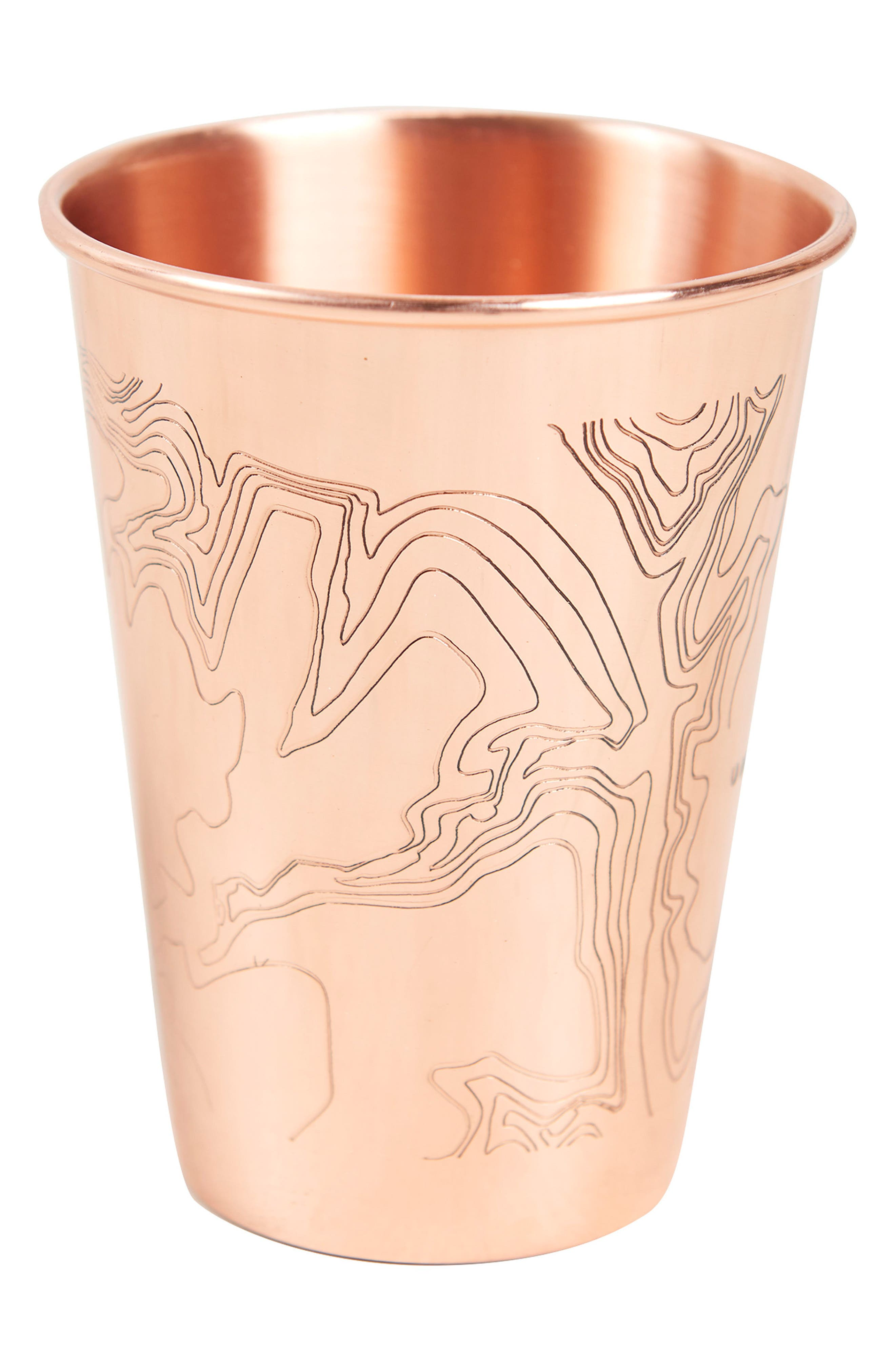Engraved Copper Tumbler,                         Main,                         color, Go Forth