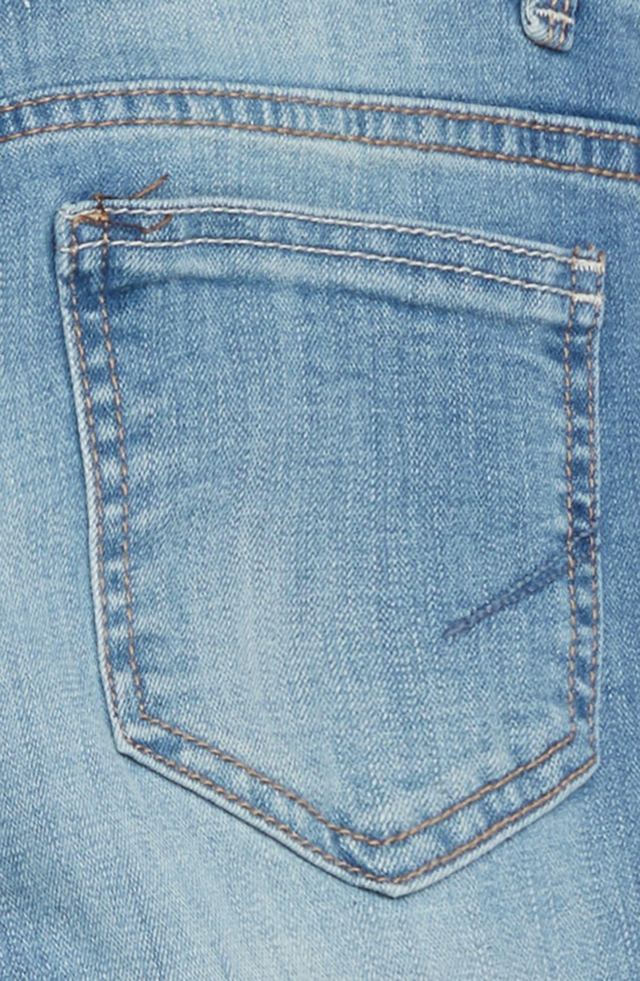 Skinny Jeans,                             Alternate thumbnail 3, color,                             Light Stone