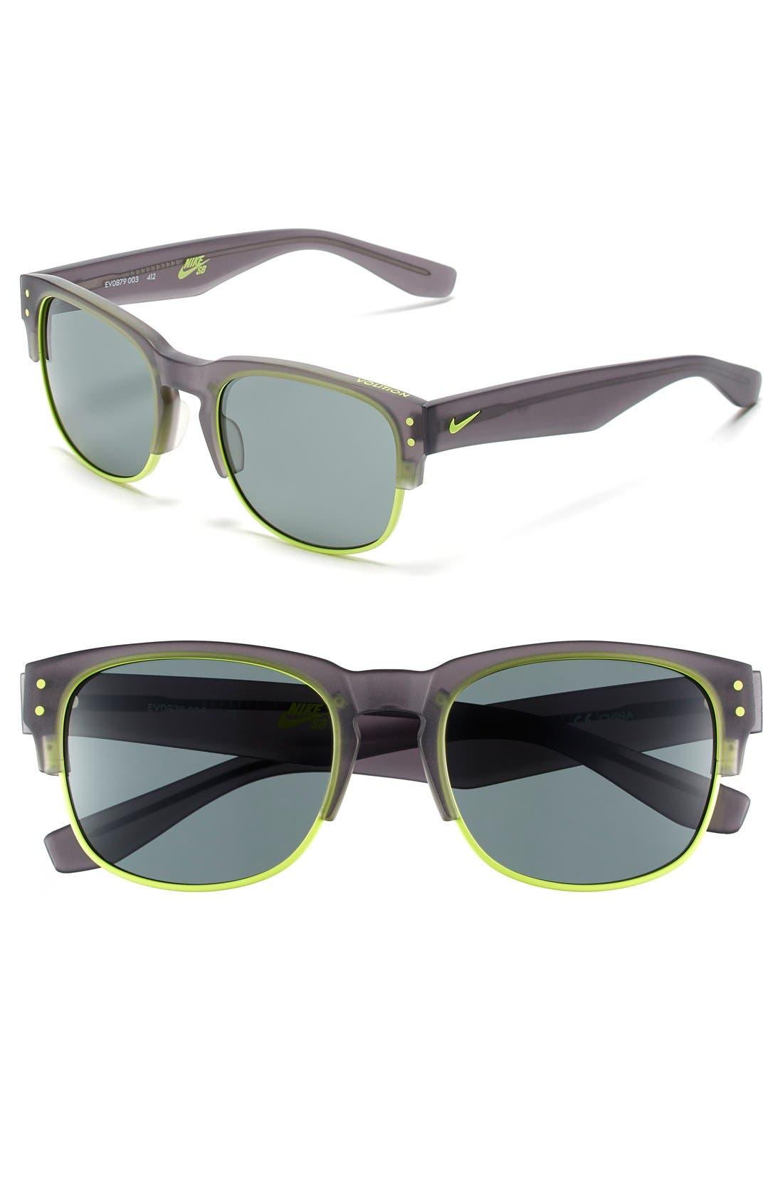 Alternate Image 1 Selected - Nike Volition 54mm Sunglasses