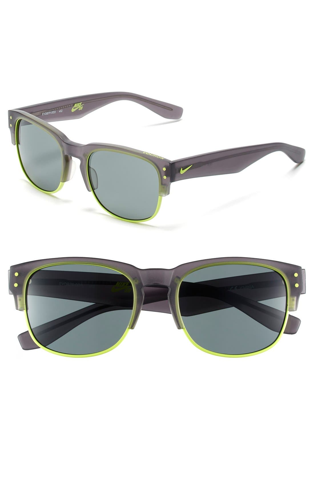 Main Image - Nike Volition 54mm Sunglasses