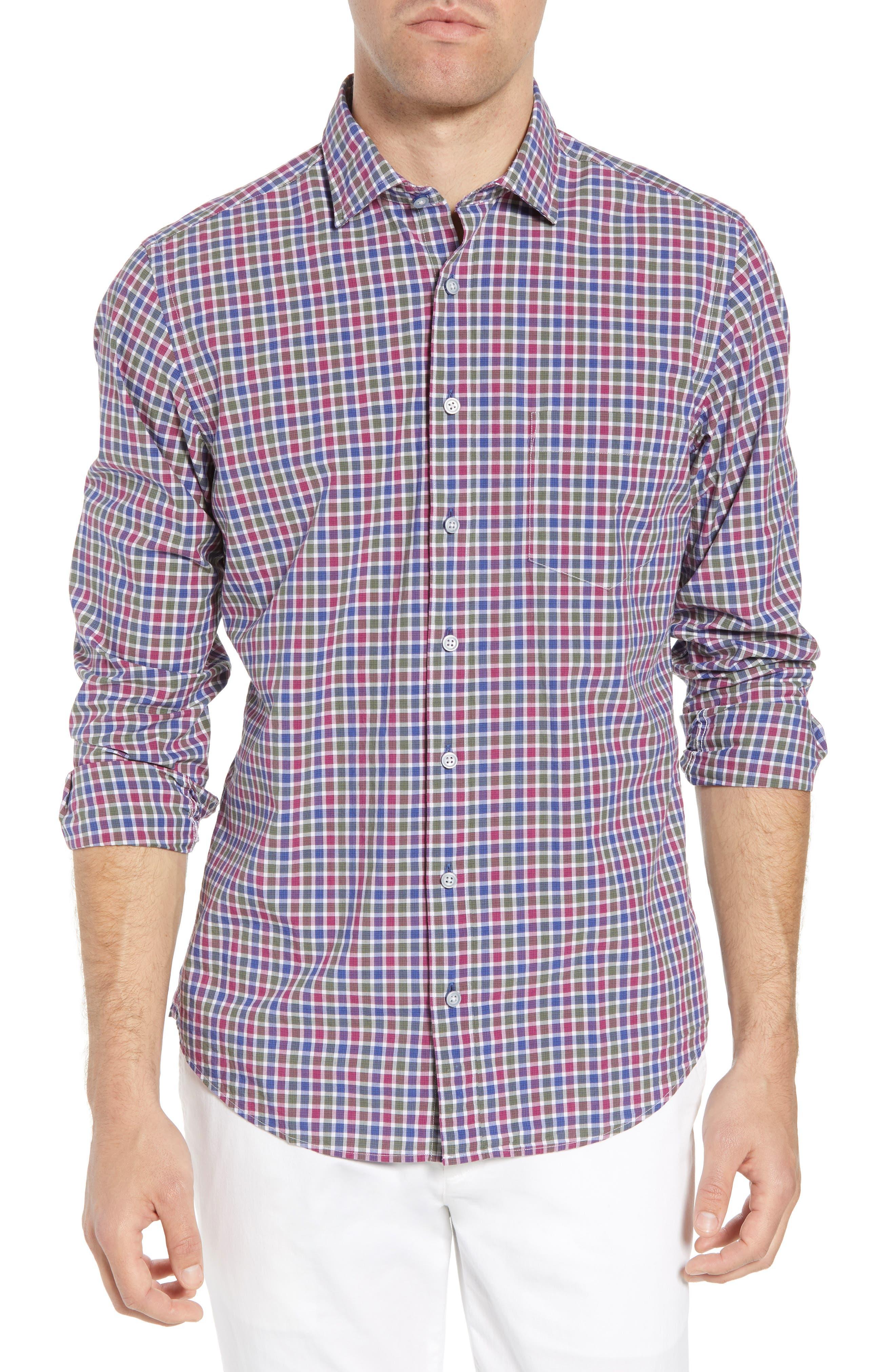 Alternate Image 1 Selected - Rodd & Gunn Macreas Flat Regular Fit Sport Shirt