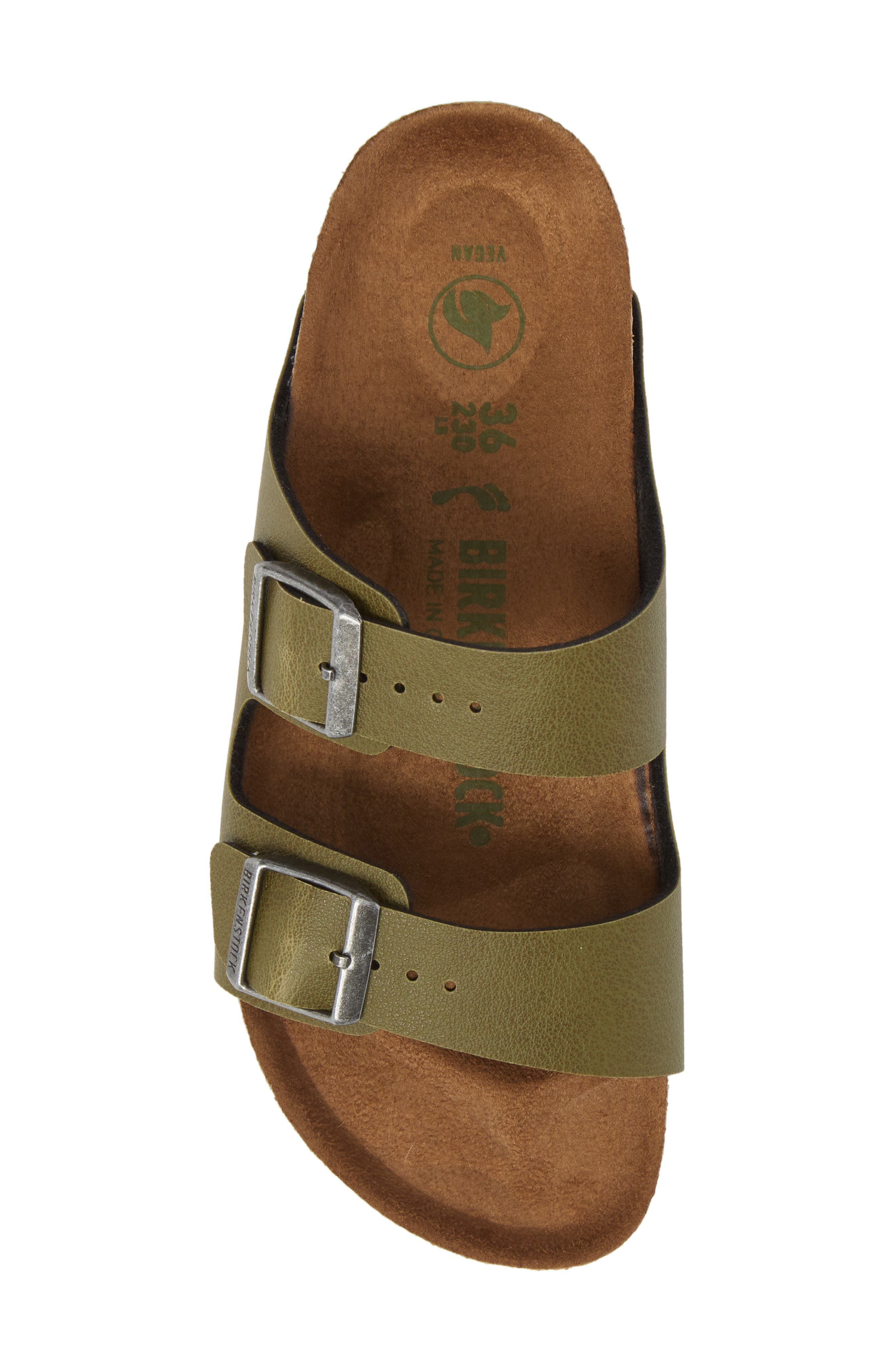 Alternate Image 5  - Birkenstock Arizona Birko-Flor™ Slide Sandal (Women)