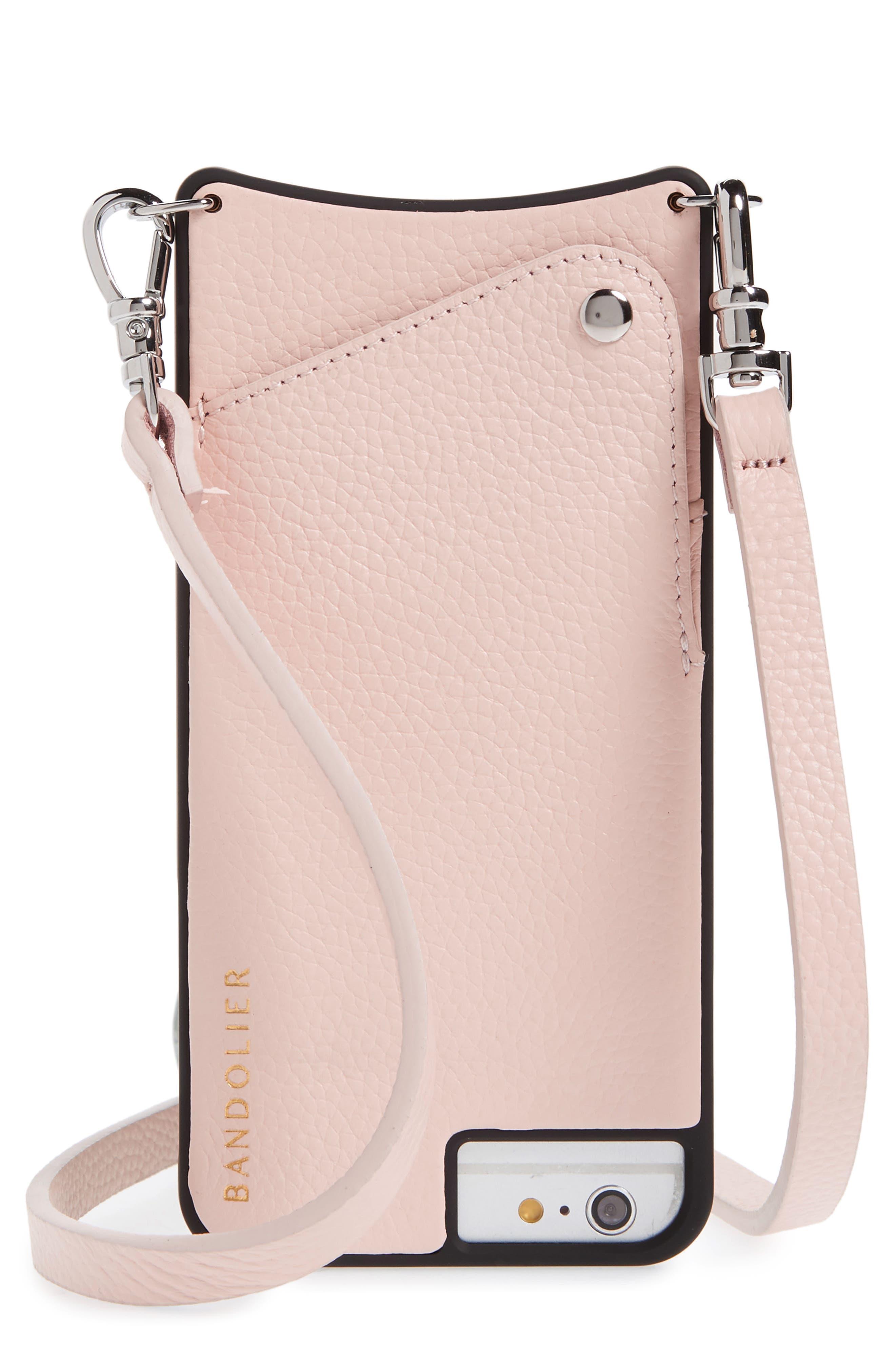 Bandolier Emma Leather iPhone 6/7/8 & 6/7/8 Plus Crossbody Case