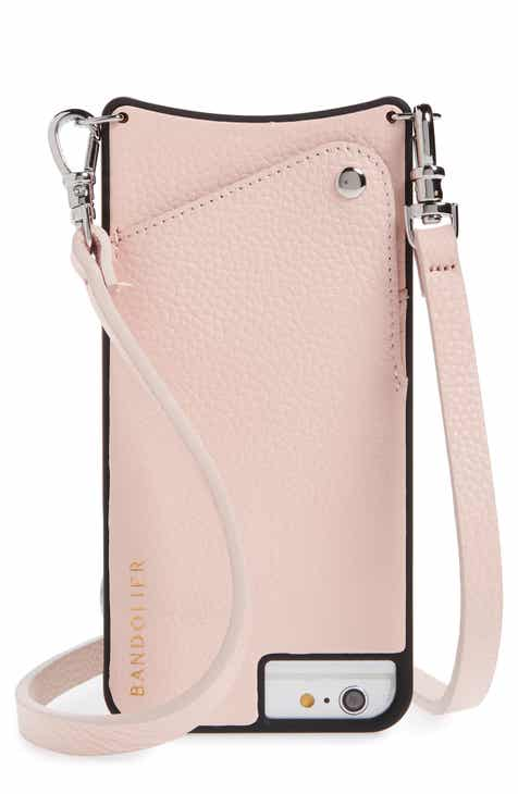 Bandolier Emma Leather iPhone 6/7/8 & 6/7/8 Plus Crossbody Case