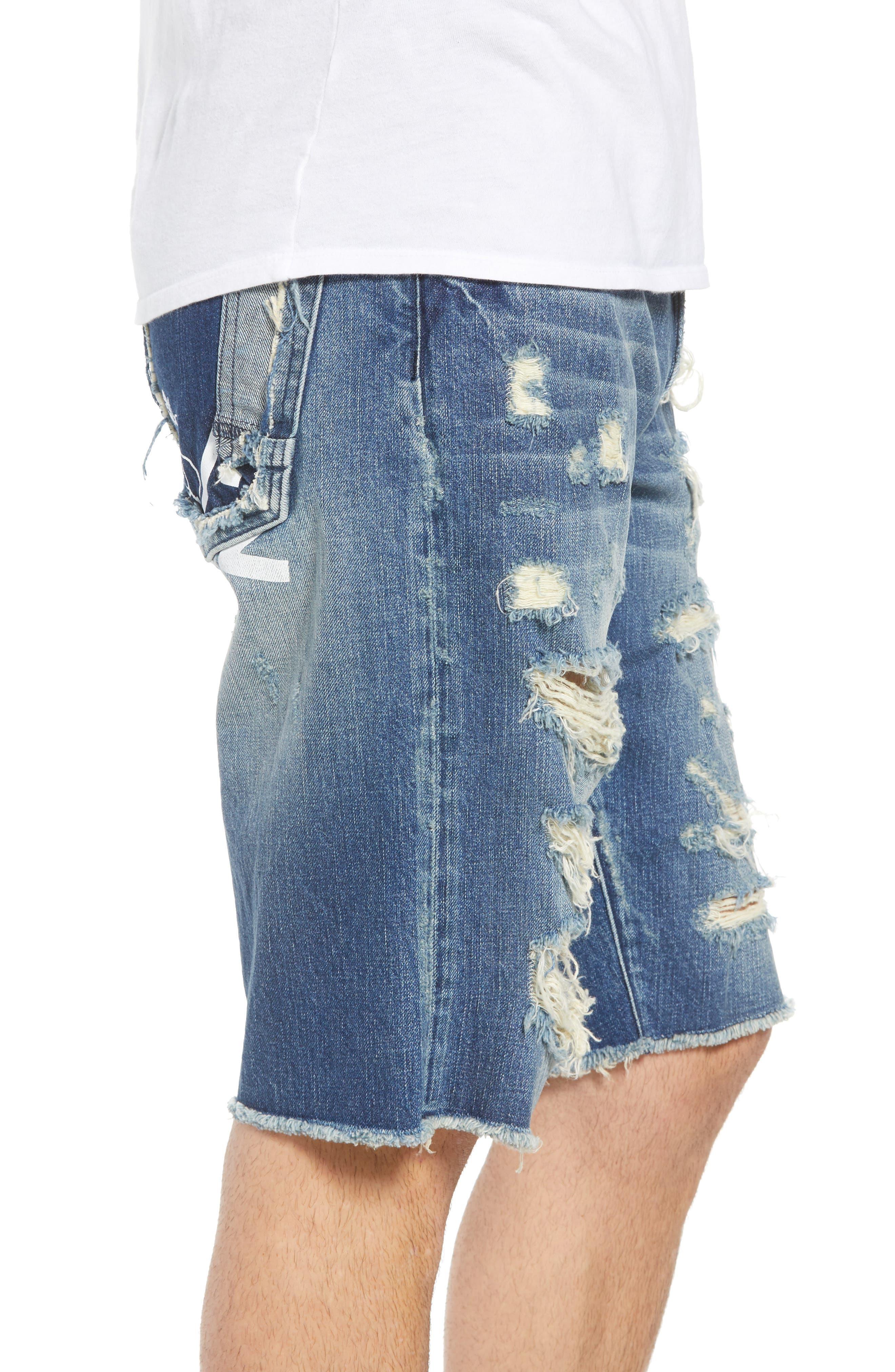 Challenger Regular Fit Shorts,                             Alternate thumbnail 3, color,                             Whispering