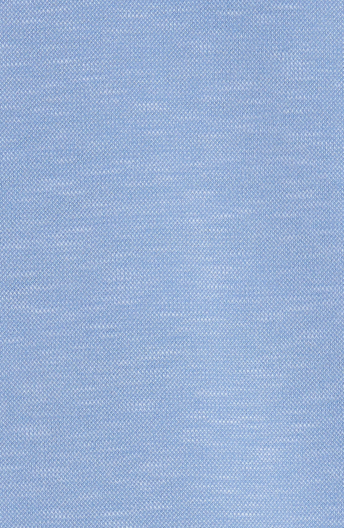 Alec Jersey Polo,                             Alternate thumbnail 5, color,                             Ocean