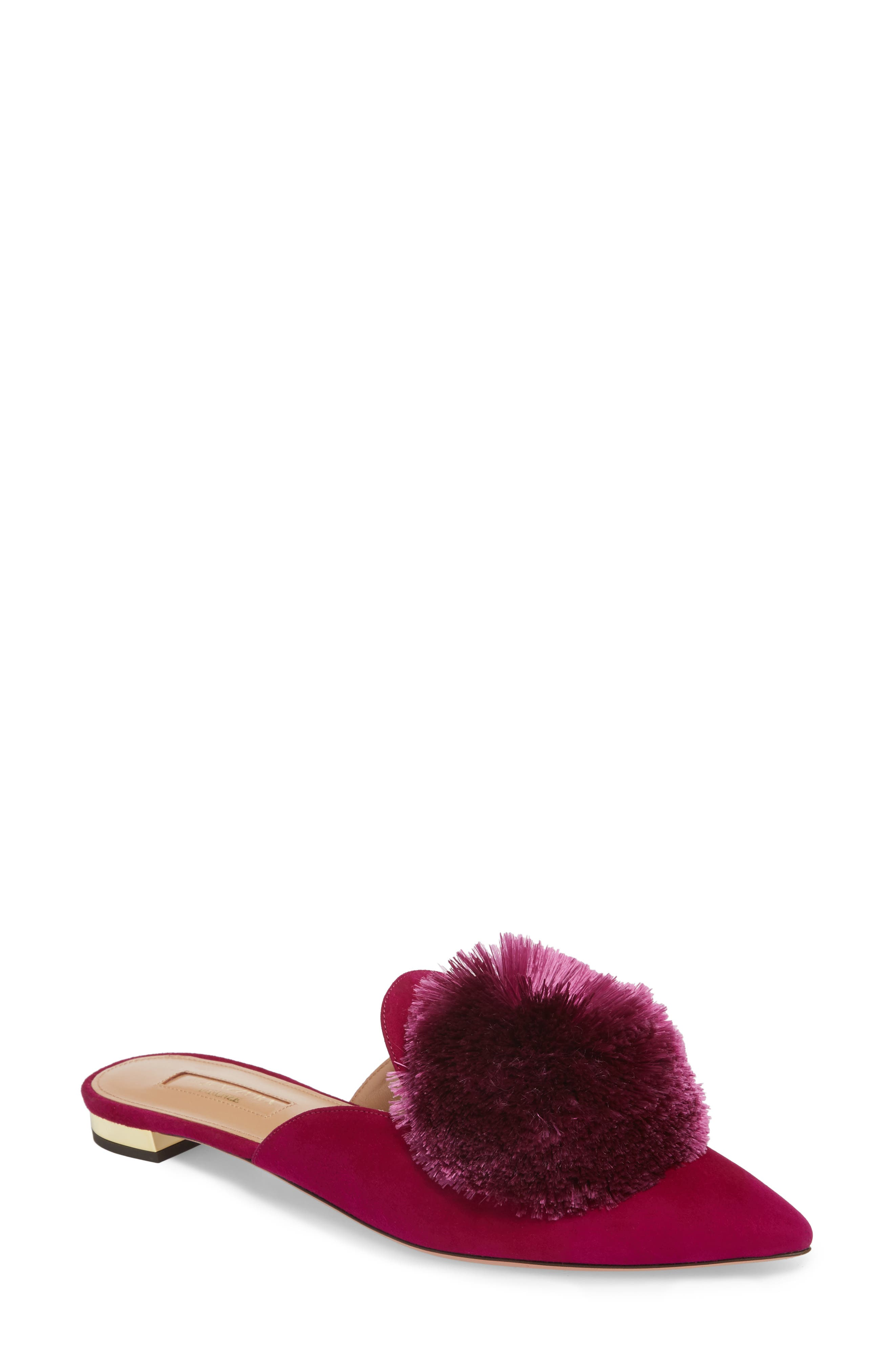 Aquazzura Powder Puff Mule (Women)