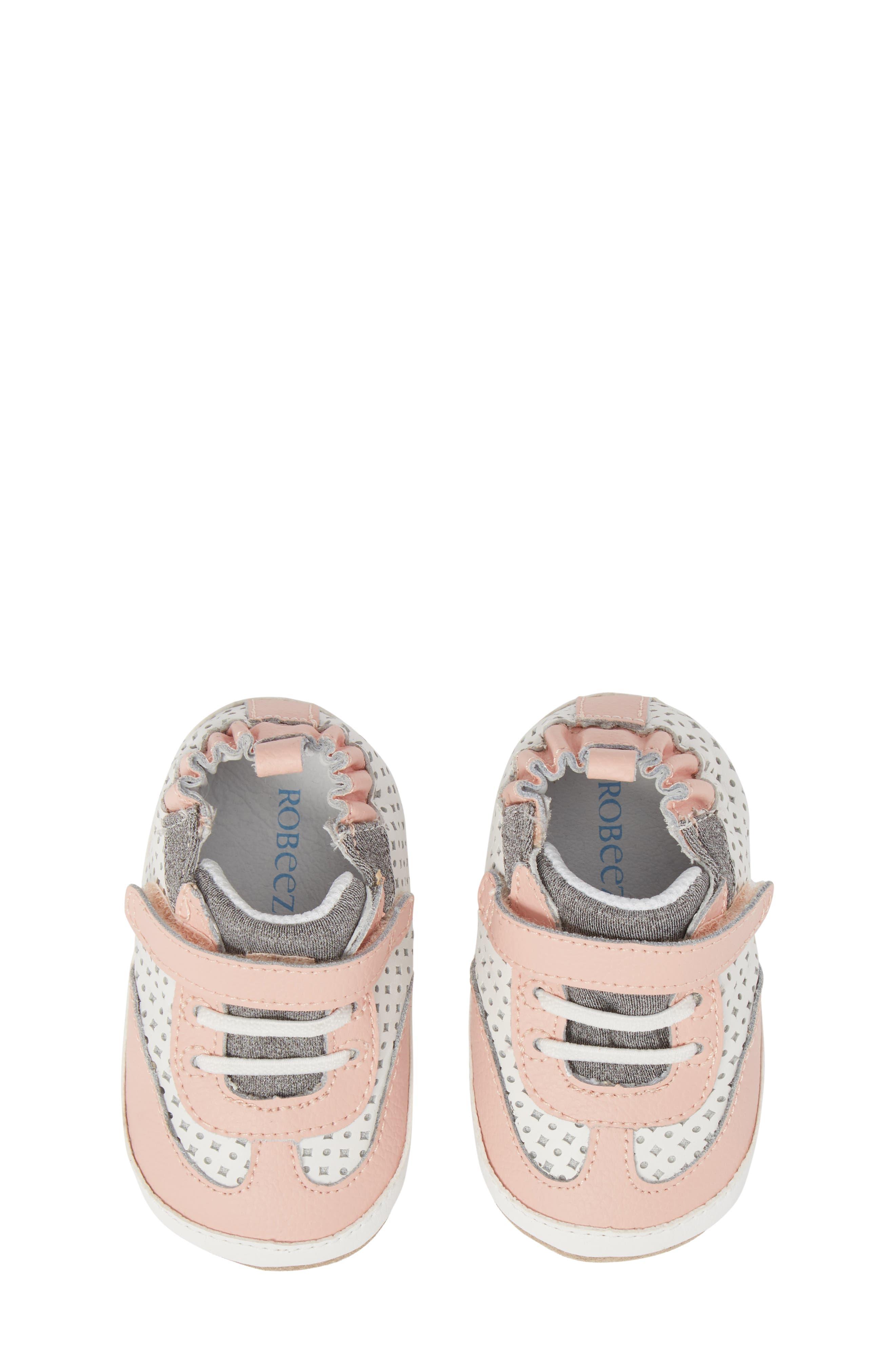 Robeez® Mini Shoez Katie's Kicks Sneaker (Baby & Walker)