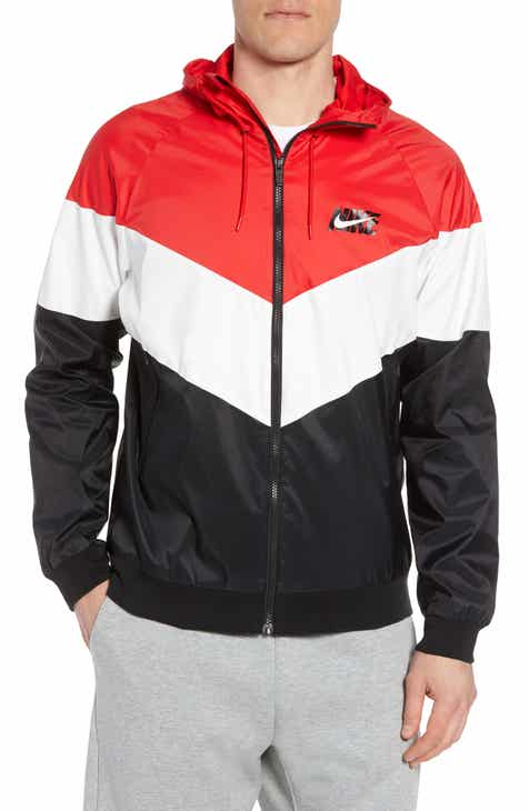 Nike Windrunner Wind   Water Repellent Hooded Jacket bb491a14c