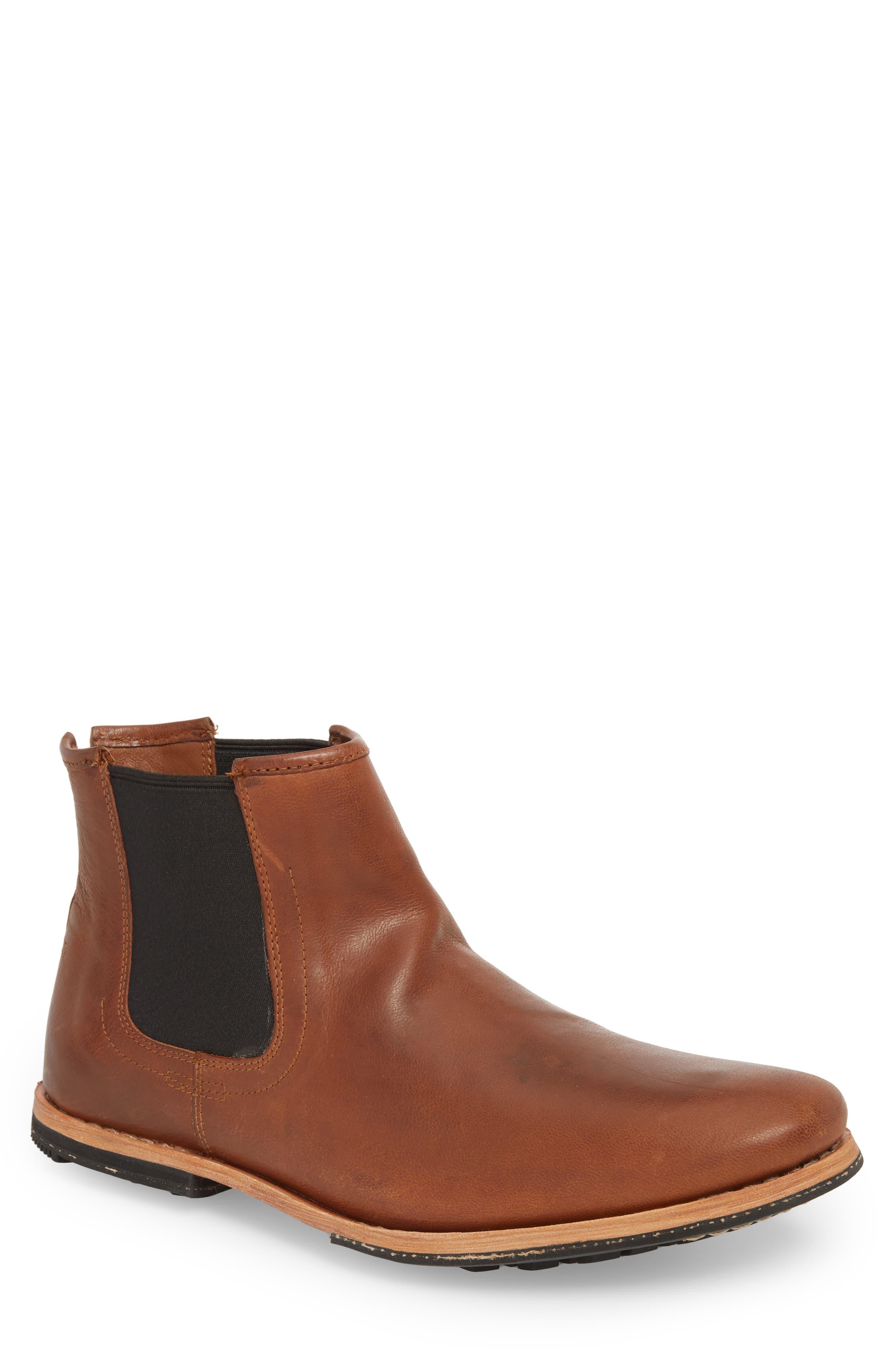 Wodehouse History Chelsea Boot,                         Main,                         color, Medium Brown