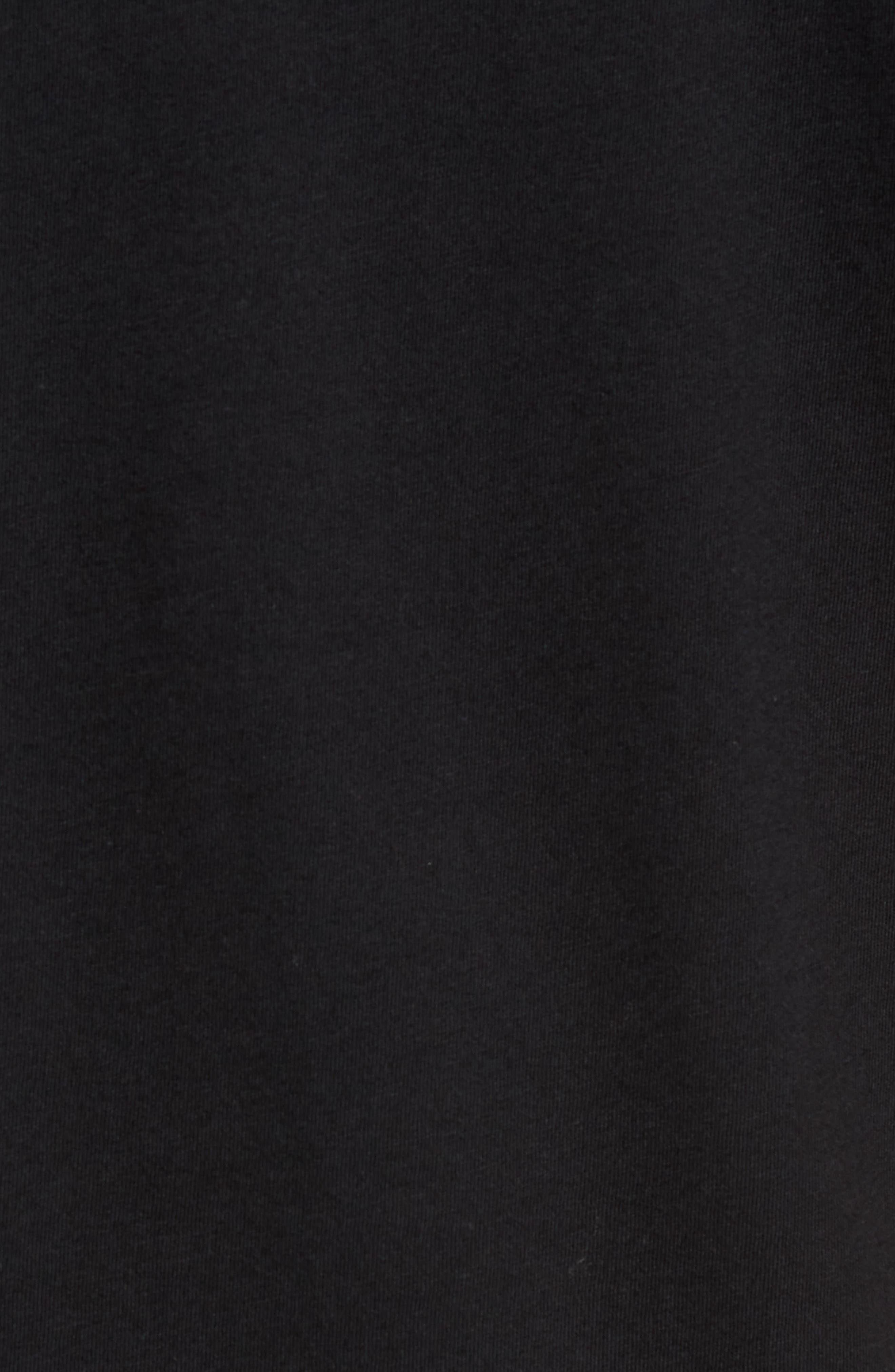 Classic Checkmate T-Shirt,                             Alternate thumbnail 5, color,                             Black/ White