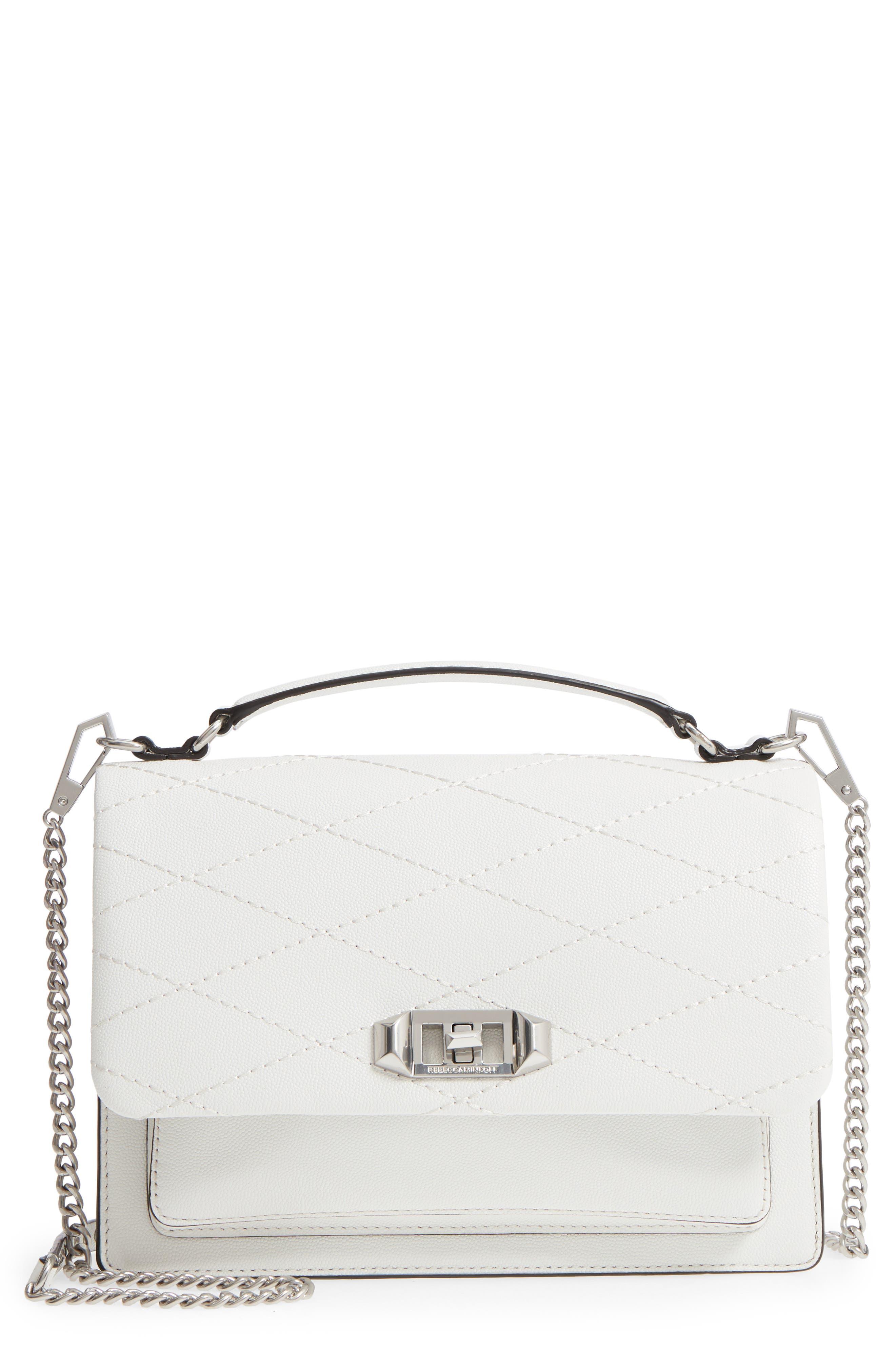 Rebecca Minkoff Medium Je T'aime Convertible Leather Crossbody Bag