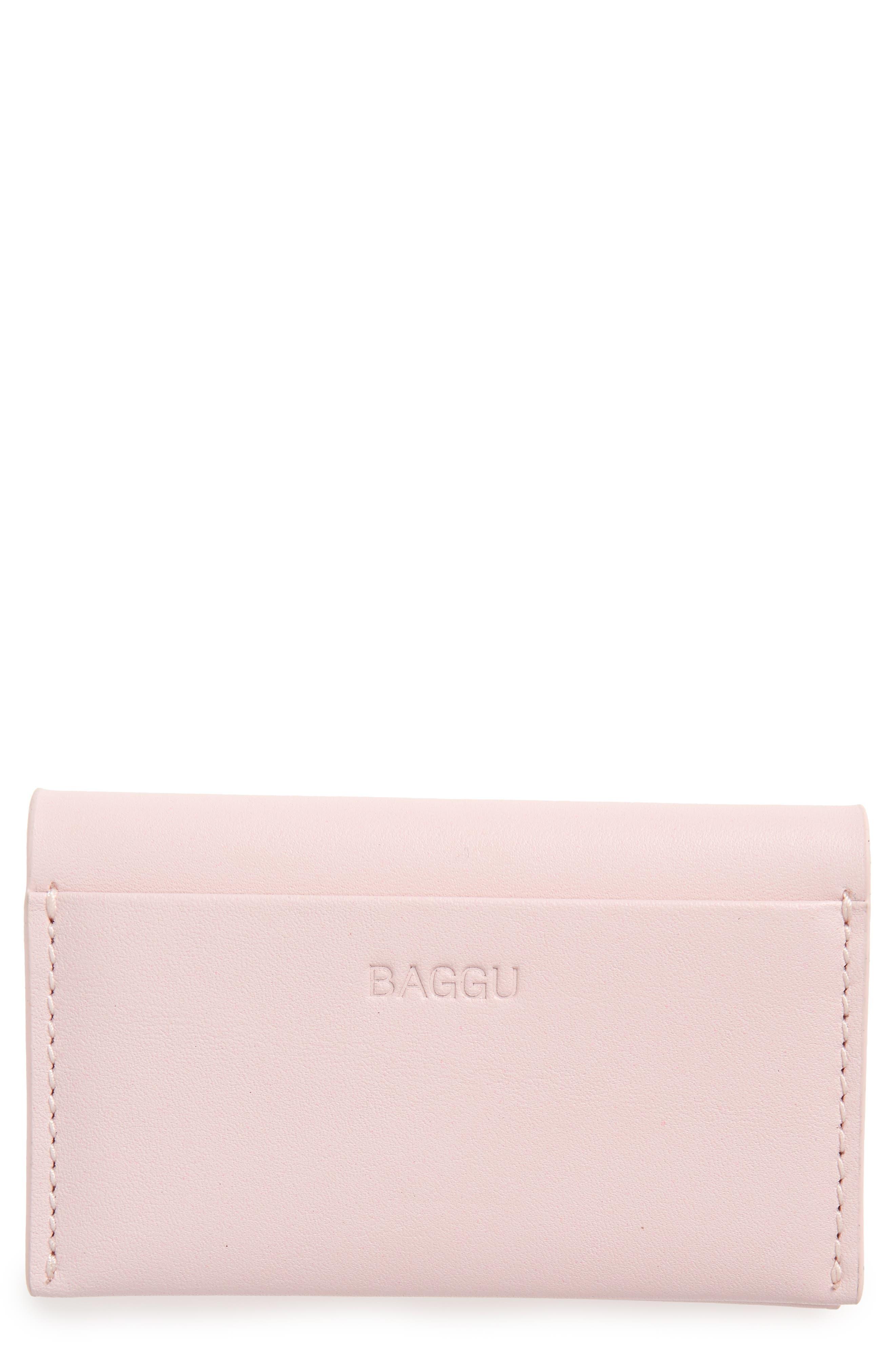 Alternate Image 1 Selected - Baggu Leather Card Case