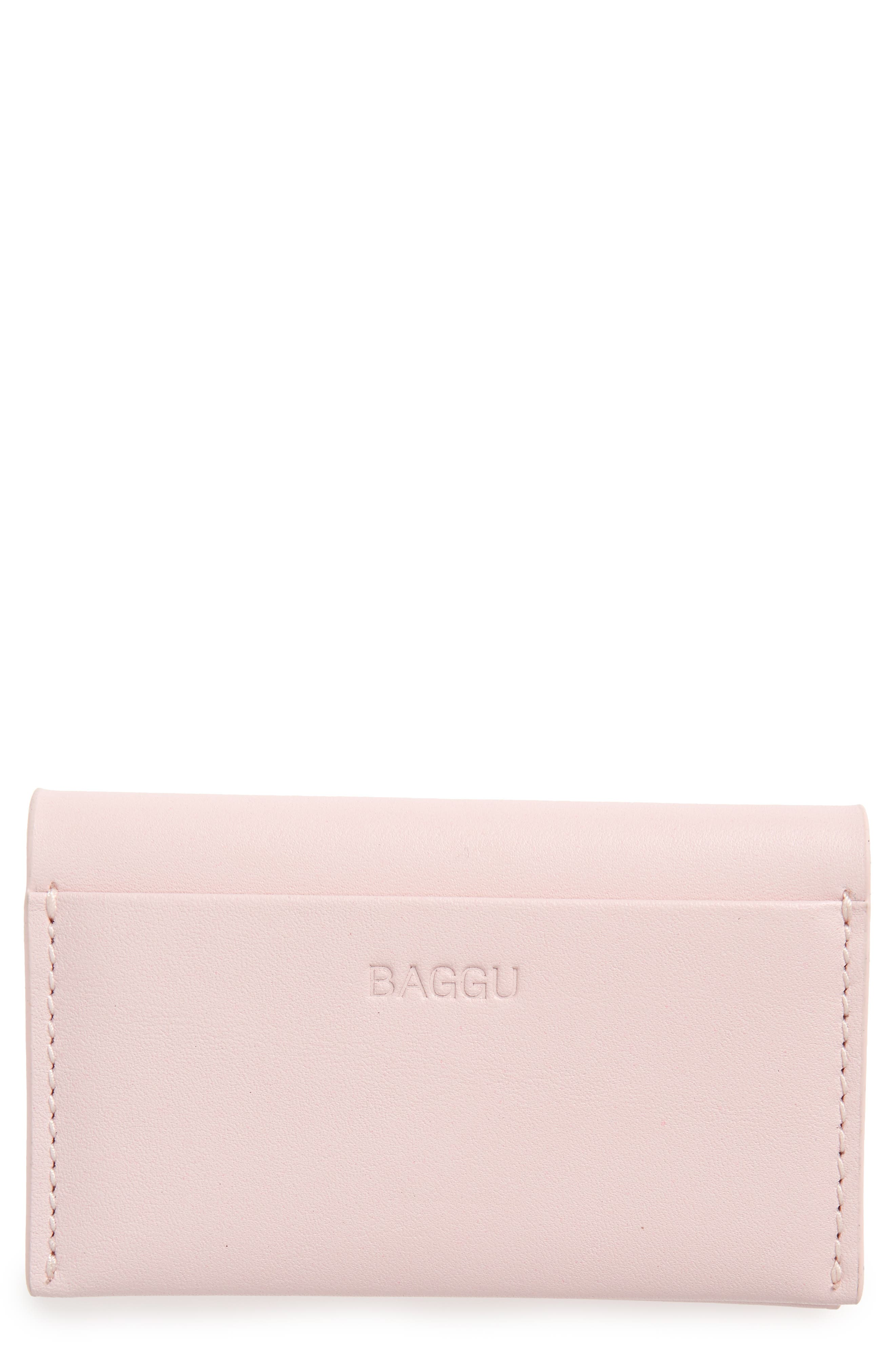 Main Image - Baggu Leather Card Case