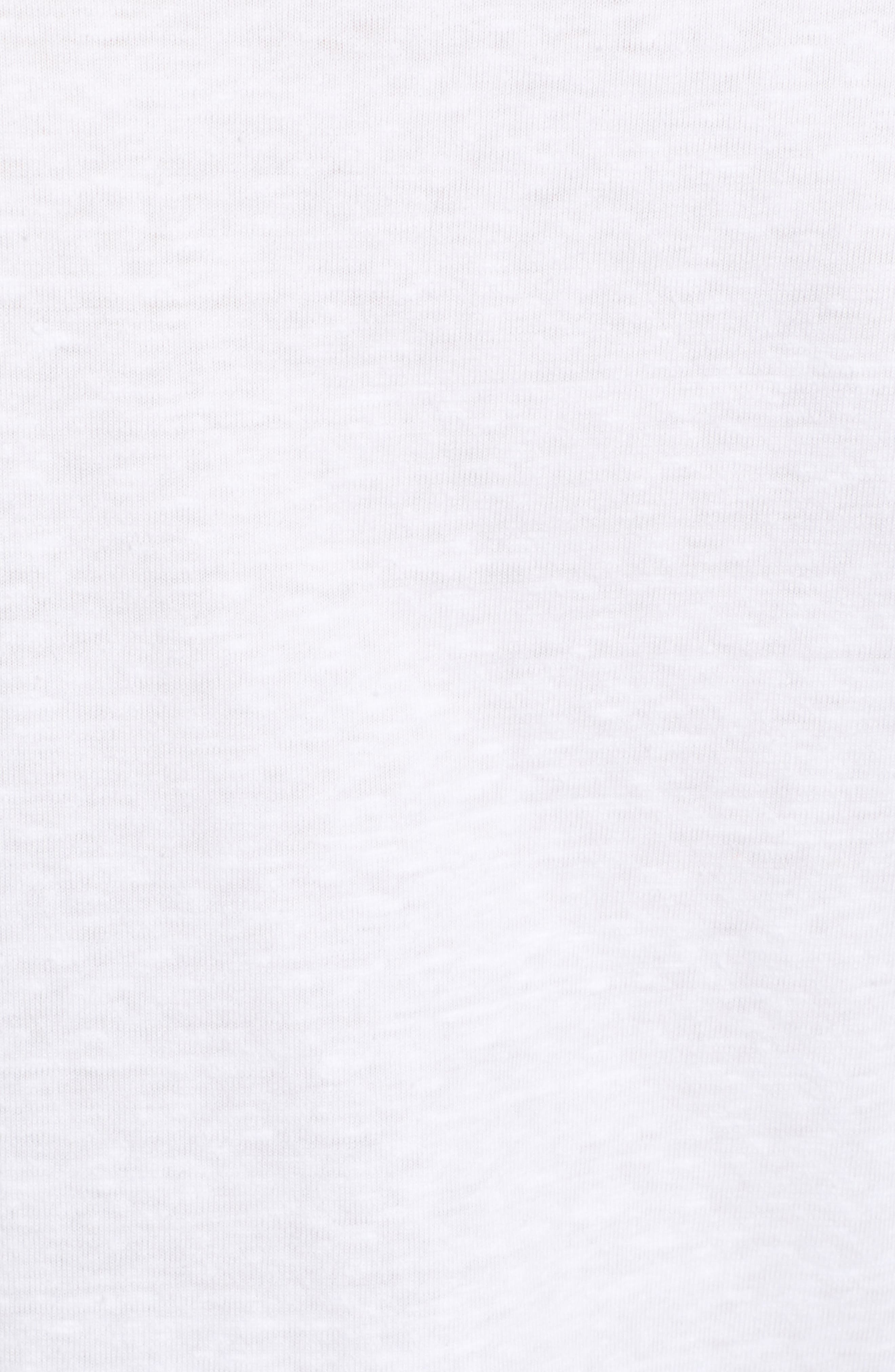 Short Sleeve Marl T-Shirt,                             Alternate thumbnail 6, color,                             White