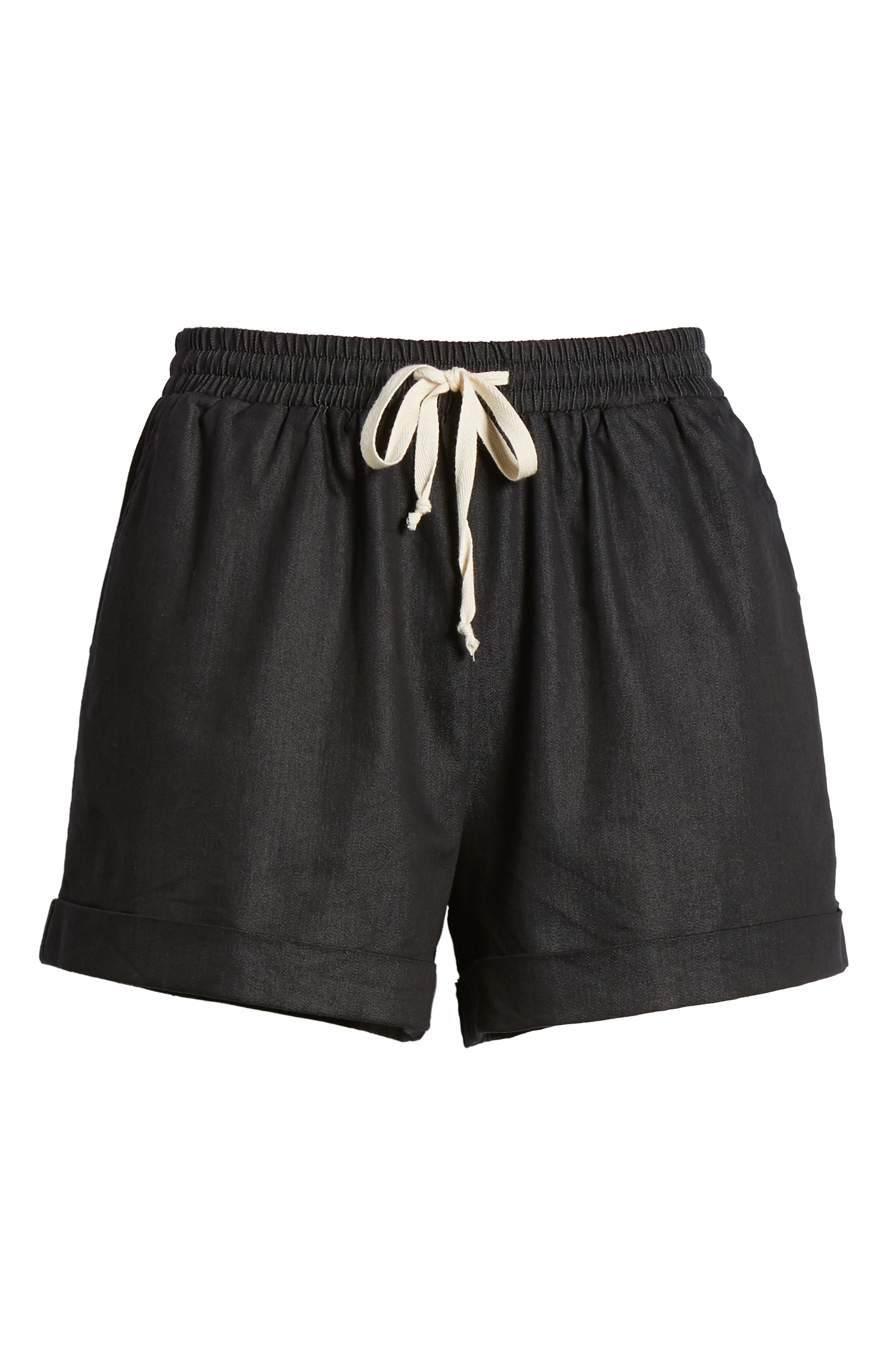 Getaway Shorts,                             Alternate thumbnail 7, color,                             Black