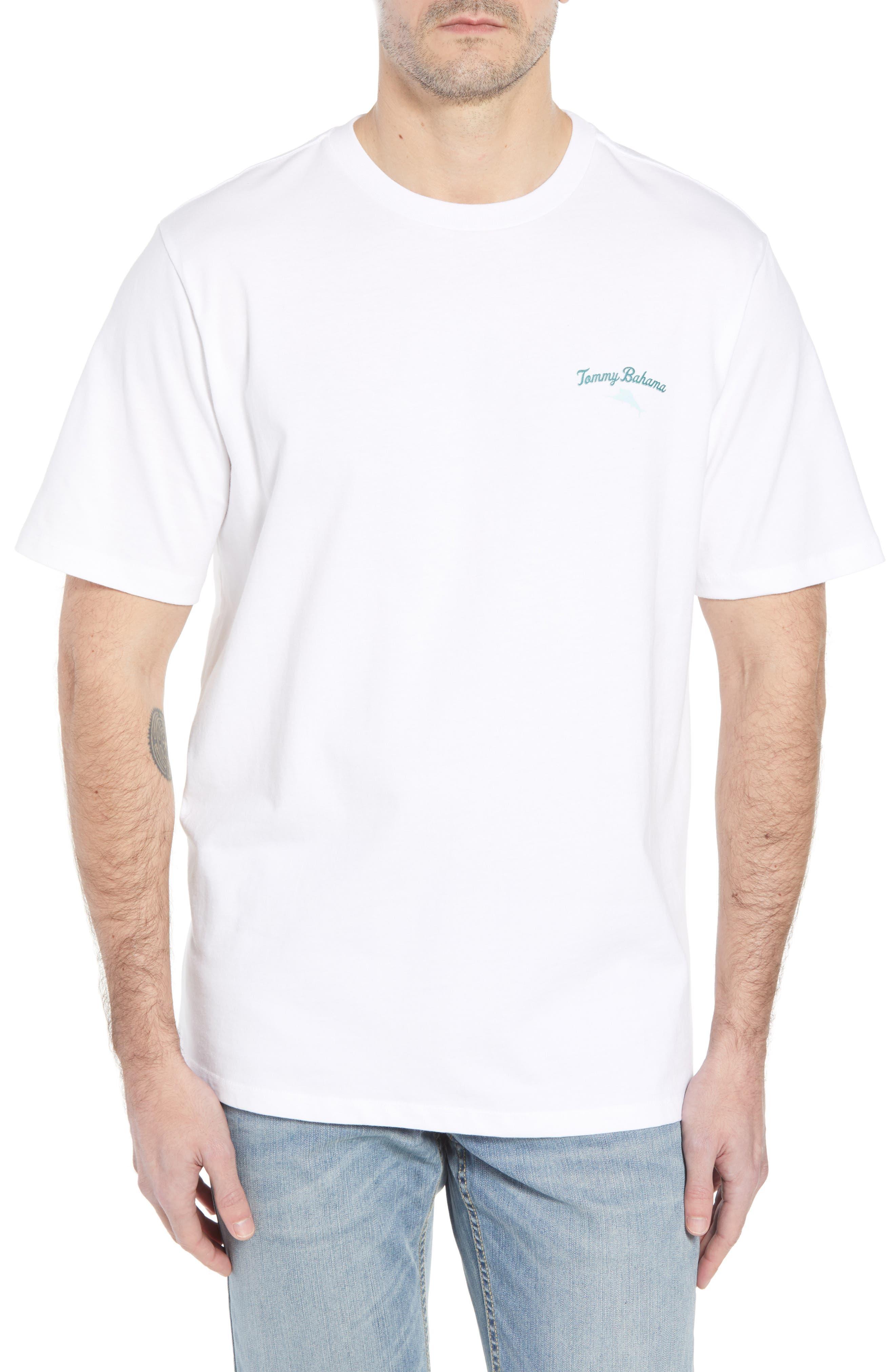 Finsurfing T-Shirt,                         Main,                         color, White