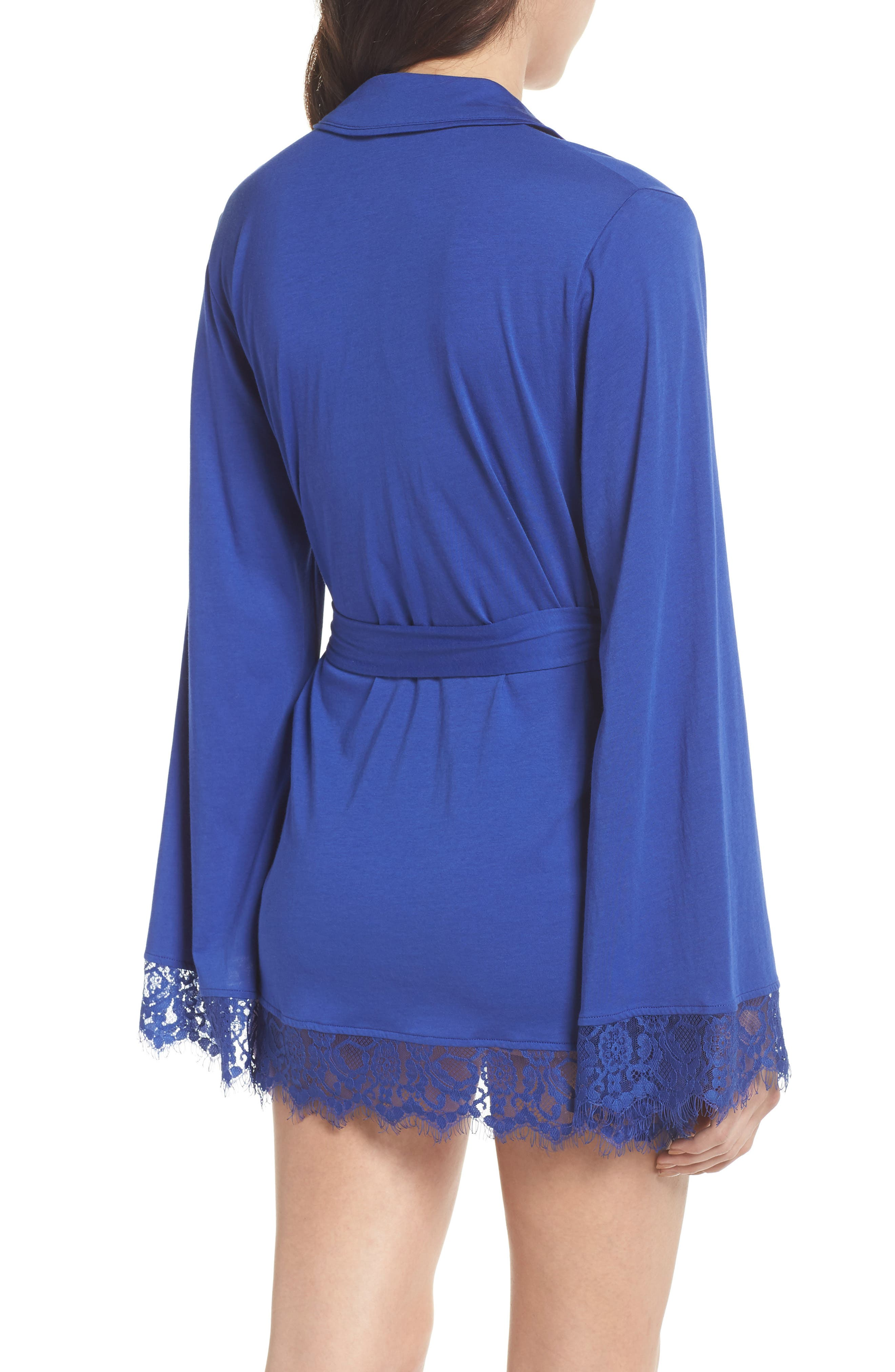 Sweetest Thing Robe,                             Alternate thumbnail 2, color,                             Blue