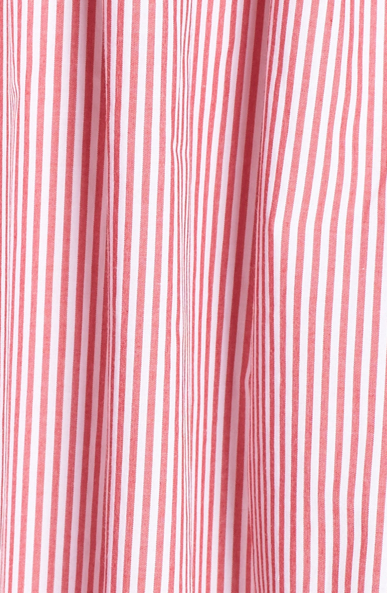 Drapey Spaghetti Strap Dress,                             Alternate thumbnail 6, color,                             Providence Red