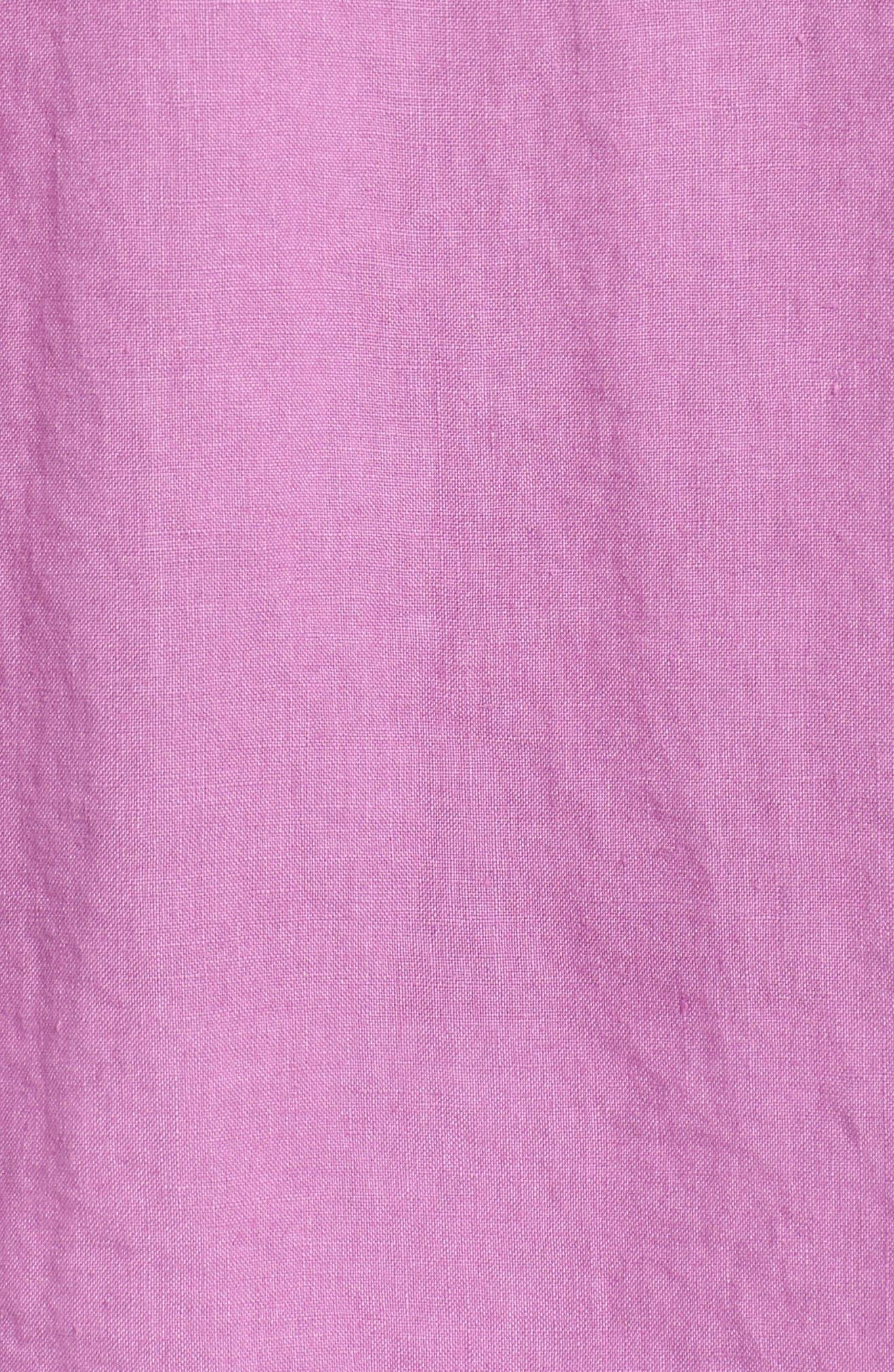 Alternate Image 5  - Tommy Bahama Seaspray Breezer Standard Fit Linen Sport Shirt