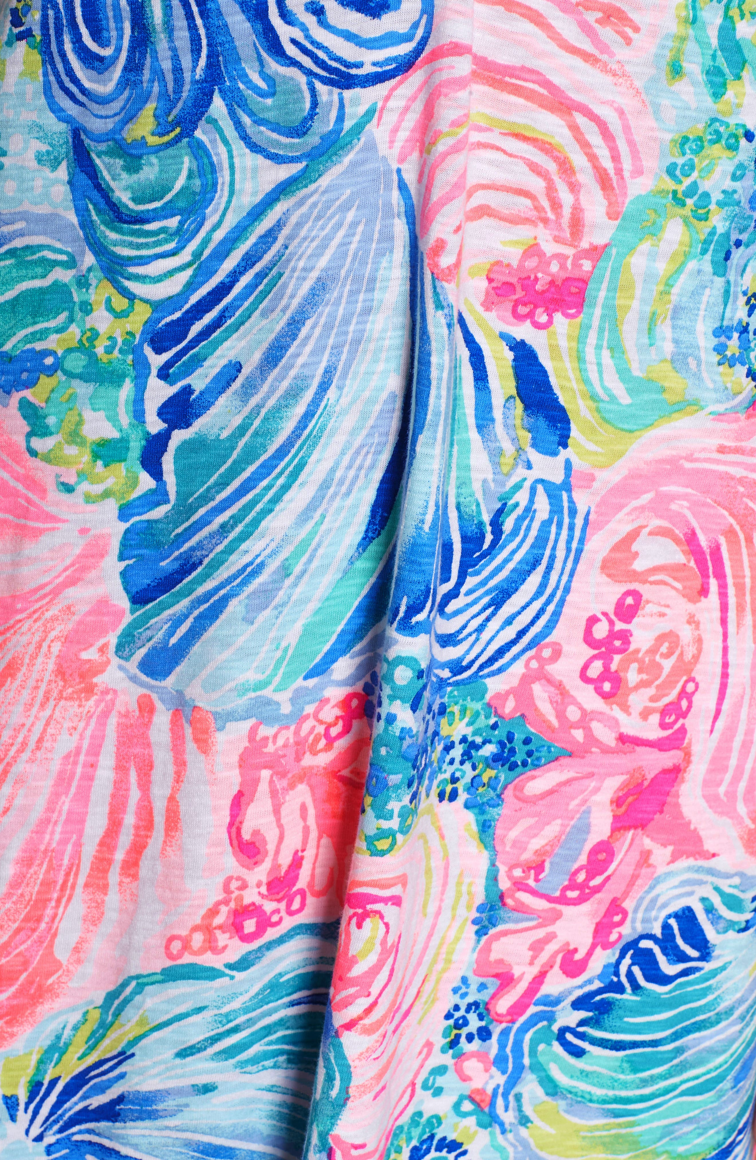 Essie Shift Dress,                             Alternate thumbnail 5, color,                             Multi Beach Please