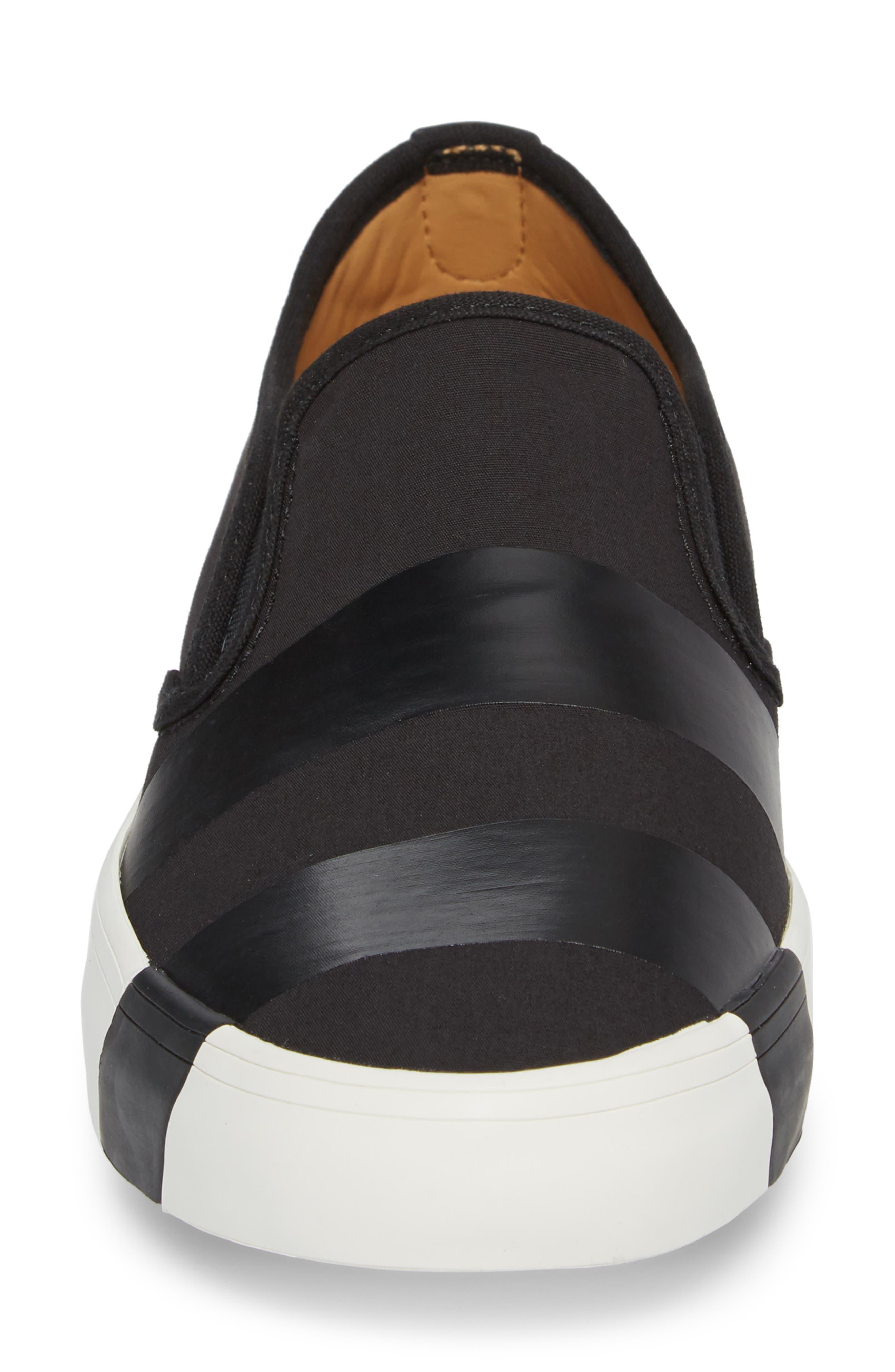 The Hammonds Slip-On Sneaker,                             Alternate thumbnail 4, color,                             Black On Black