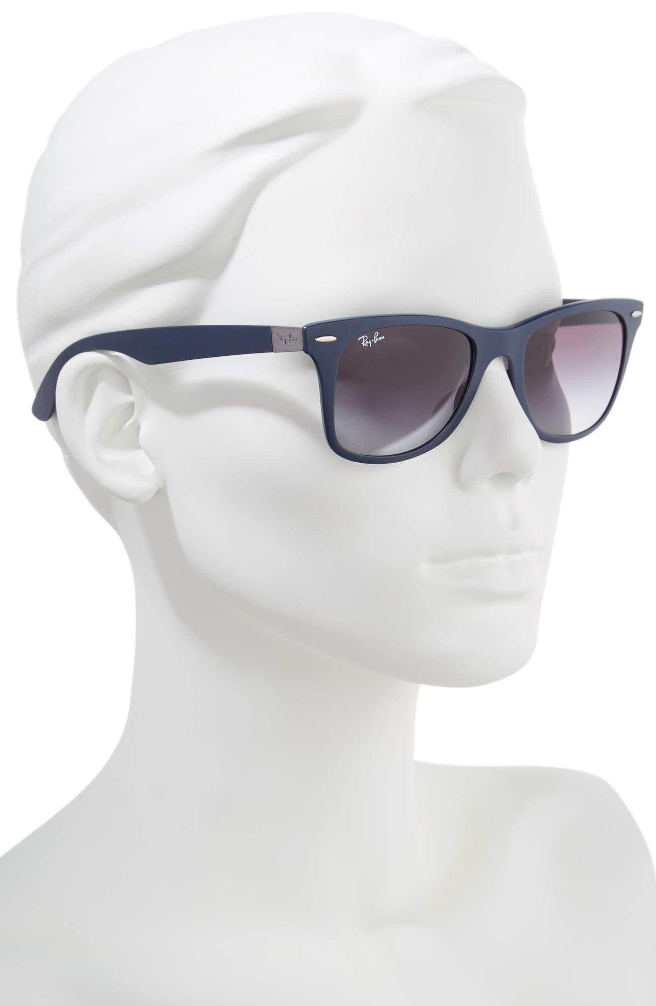 52mm Sunglasses,                             Alternate thumbnail 2, color,                             Blue/ Grey