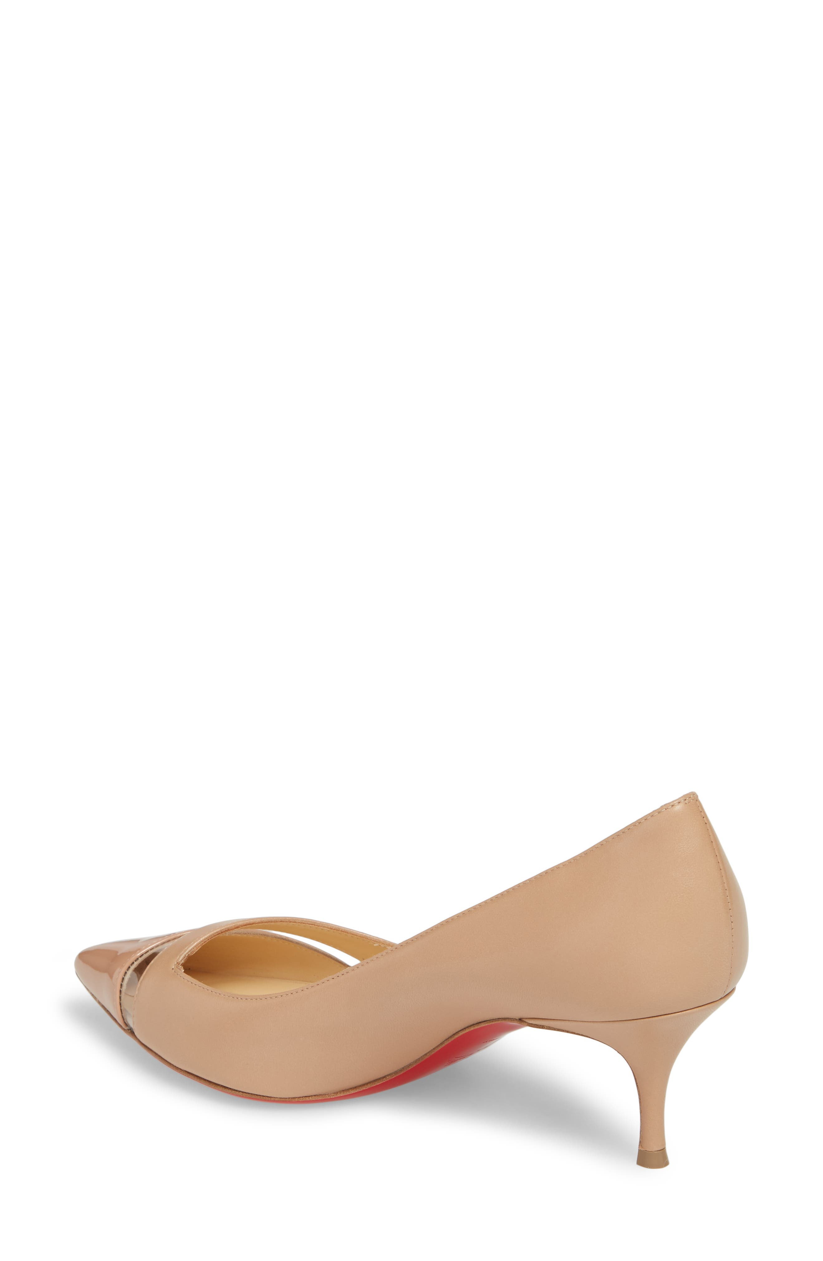 17th Floor Pointy Toe Pump,                             Alternate thumbnail 2, color,                             Nude