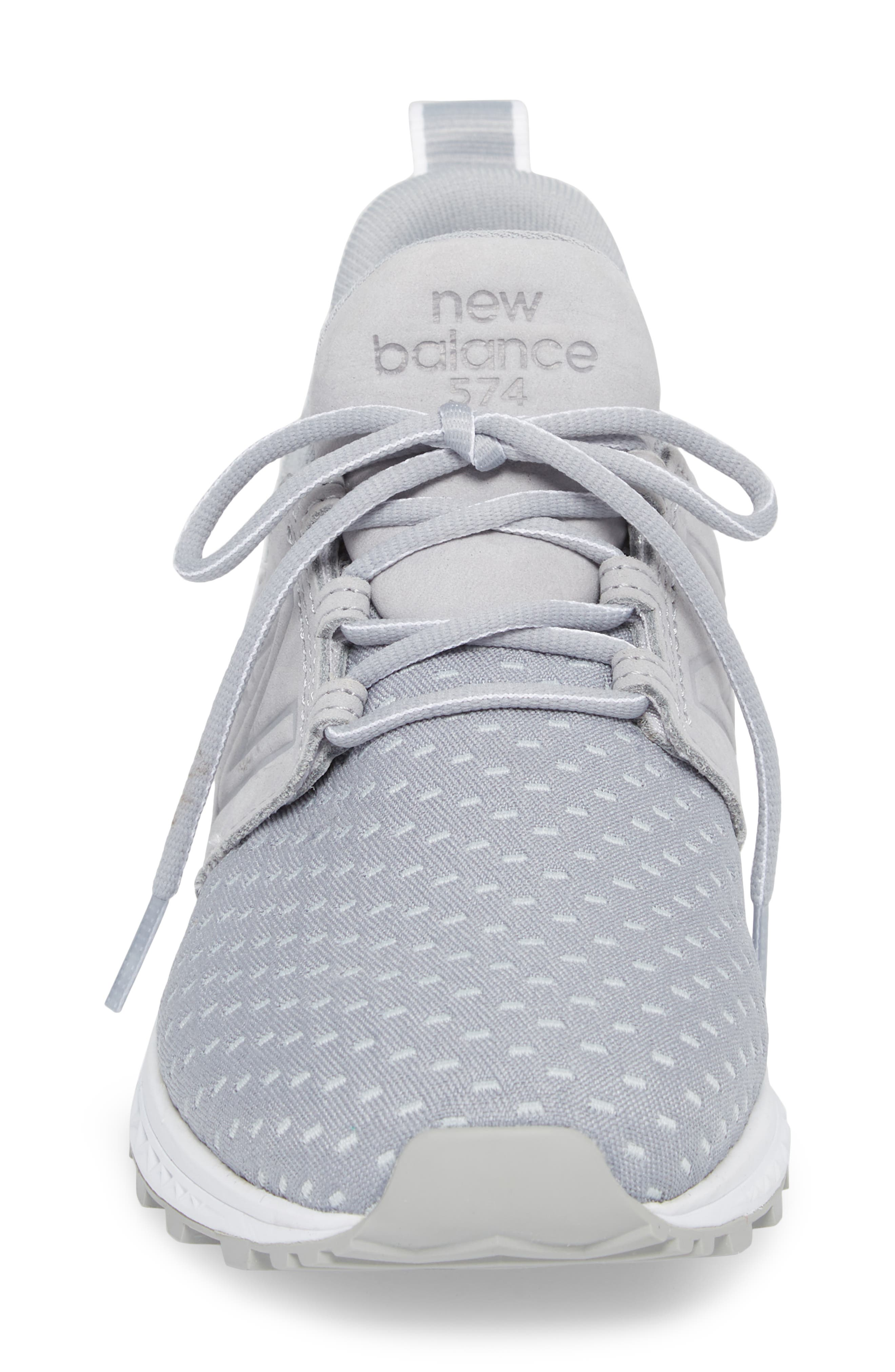 574 Sport Decon Fresh Foam Sneaker,                             Alternate thumbnail 4, color,                             Silver Mink
