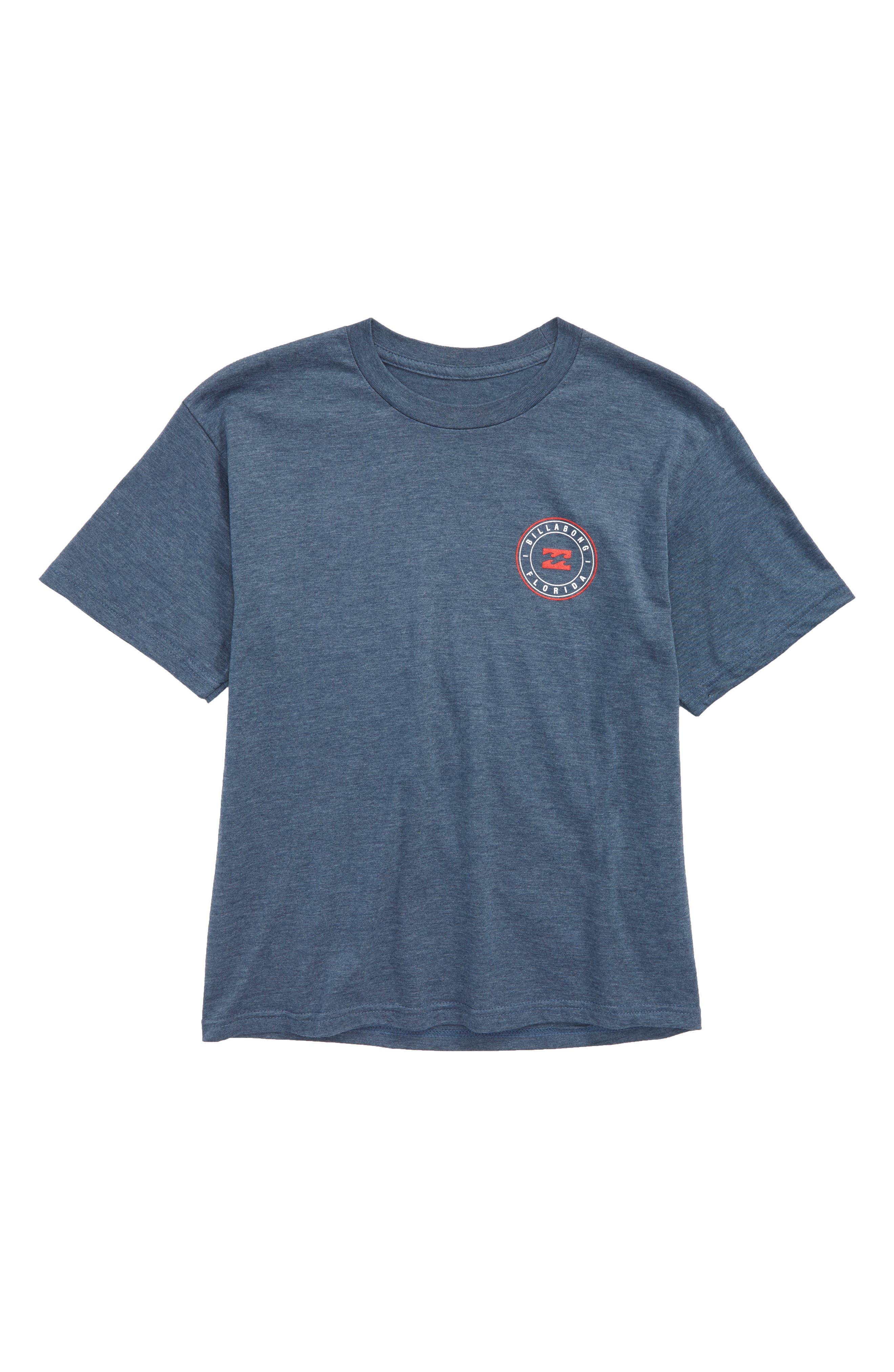 Native Rotor FL T-Shirt,                         Main,                         color, Denim Heather