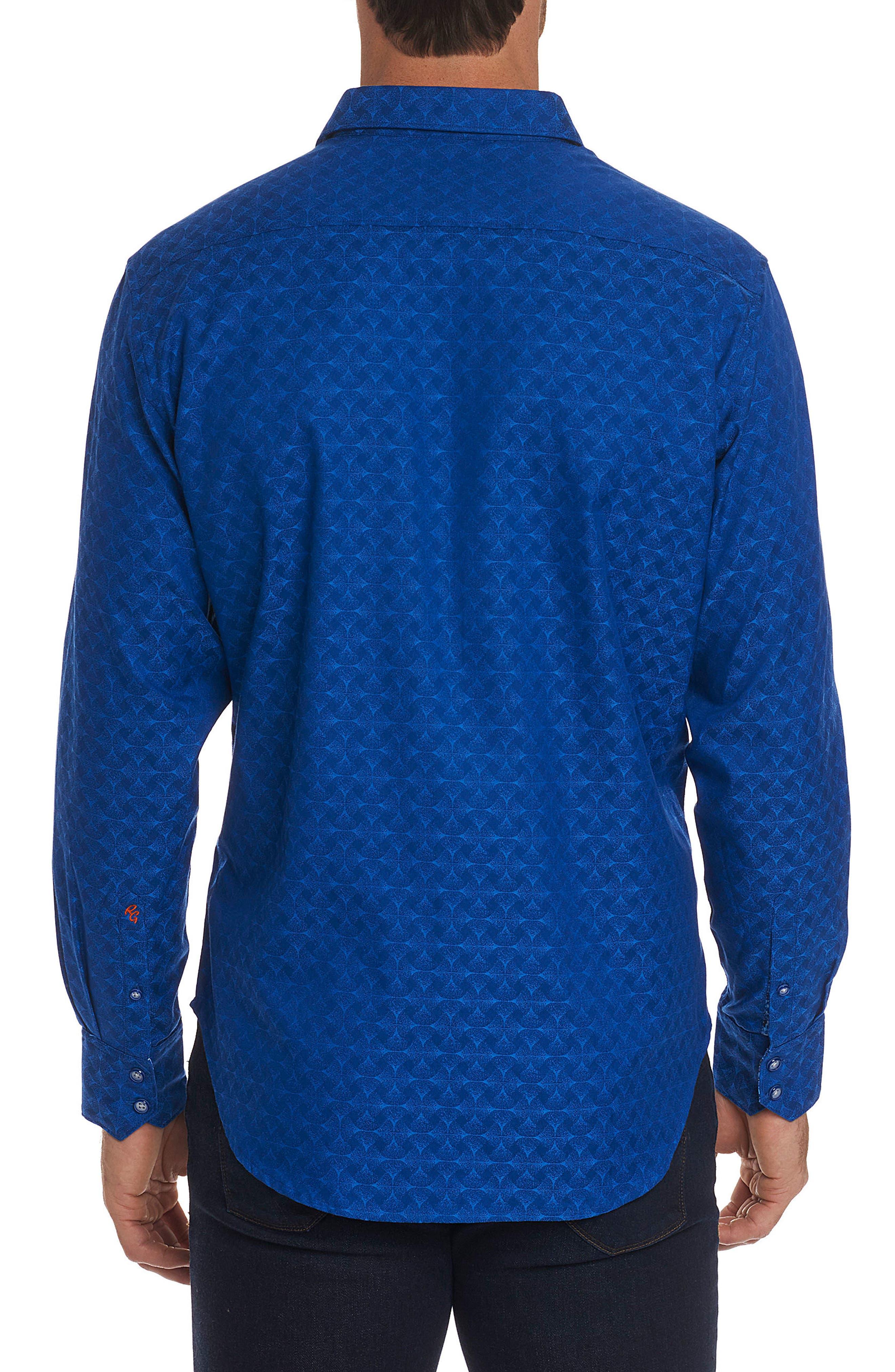 Alternate Image 2  - Robert Graham Diamante Classic Fit Print Sport Shirt