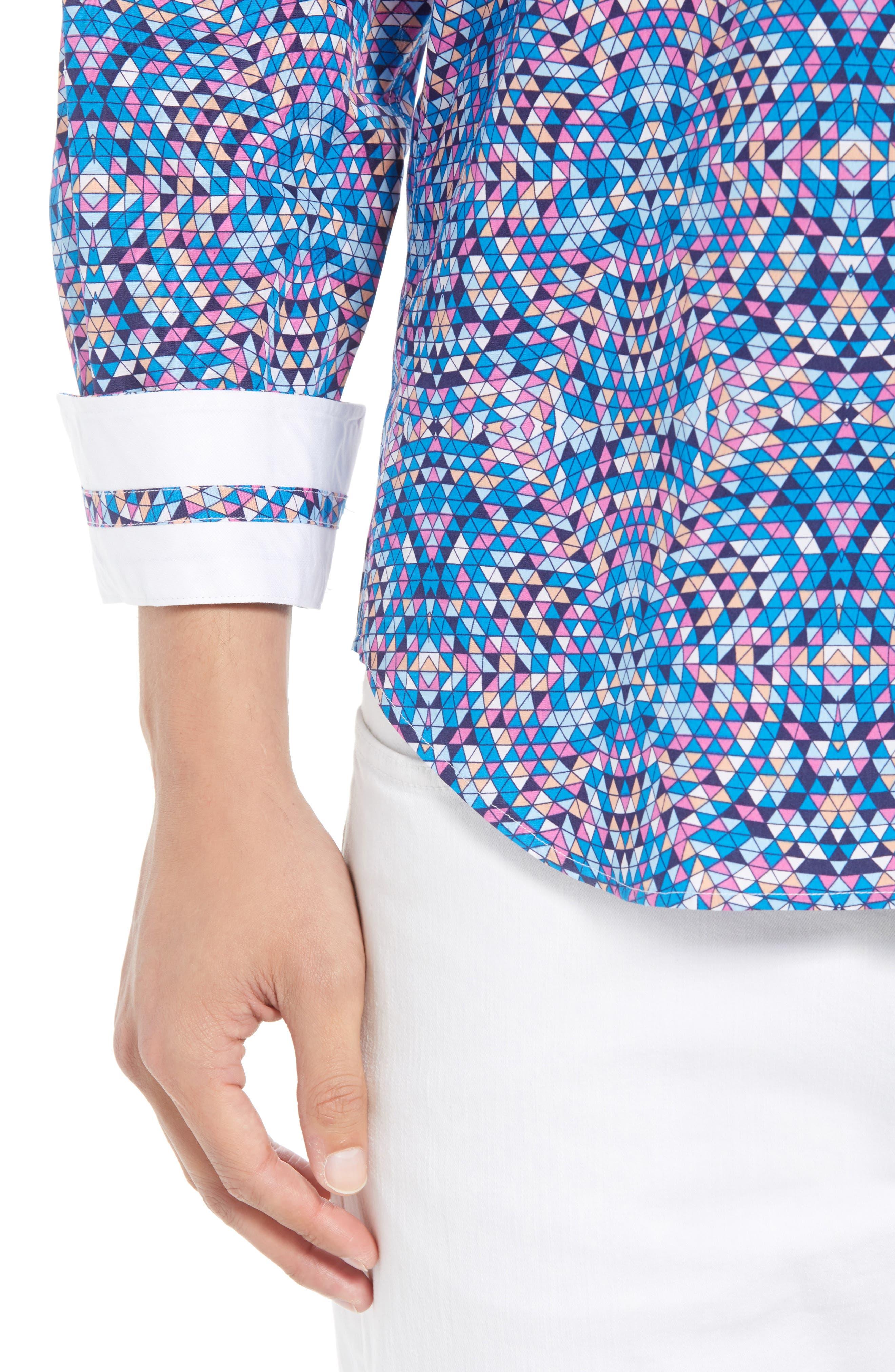 Alden Regular Fit Sport Shirt,                             Alternate thumbnail 2, color,                             Teal